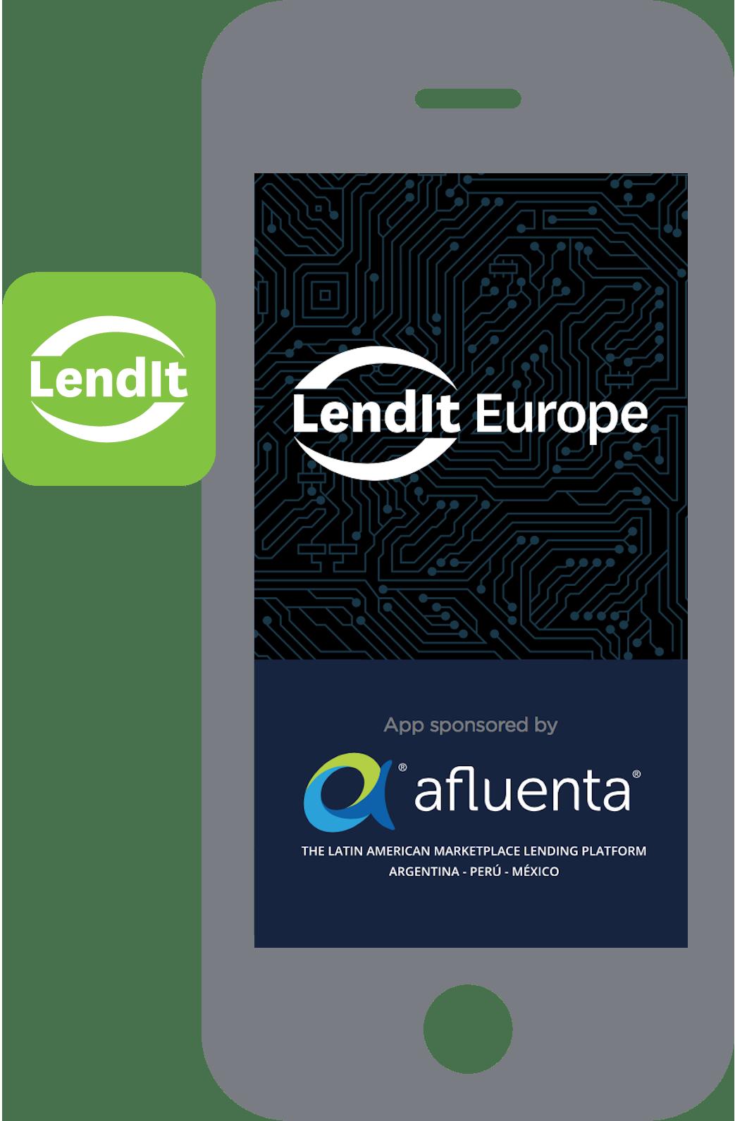 lendit app sponsored by afluenta