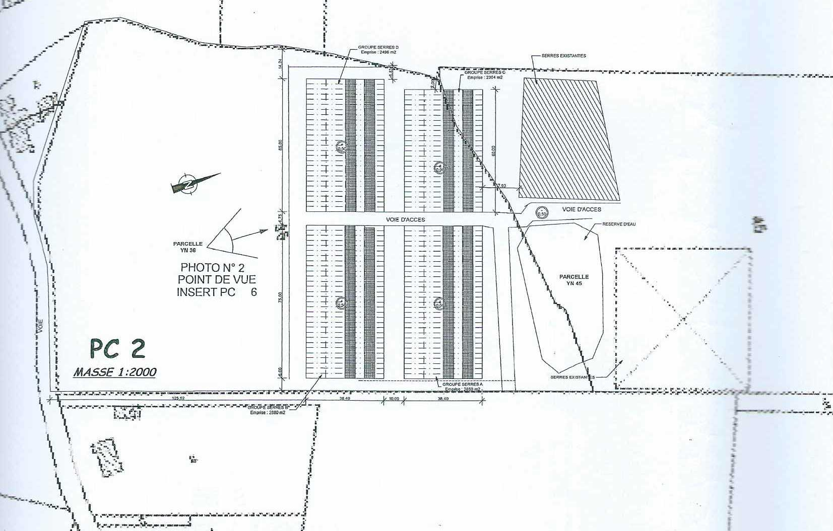 Plan implantation du projet
