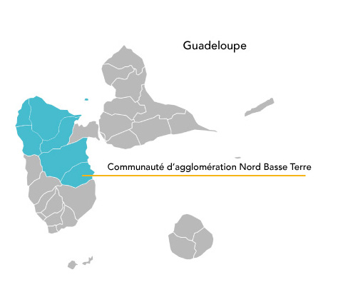 Carte d'implantation