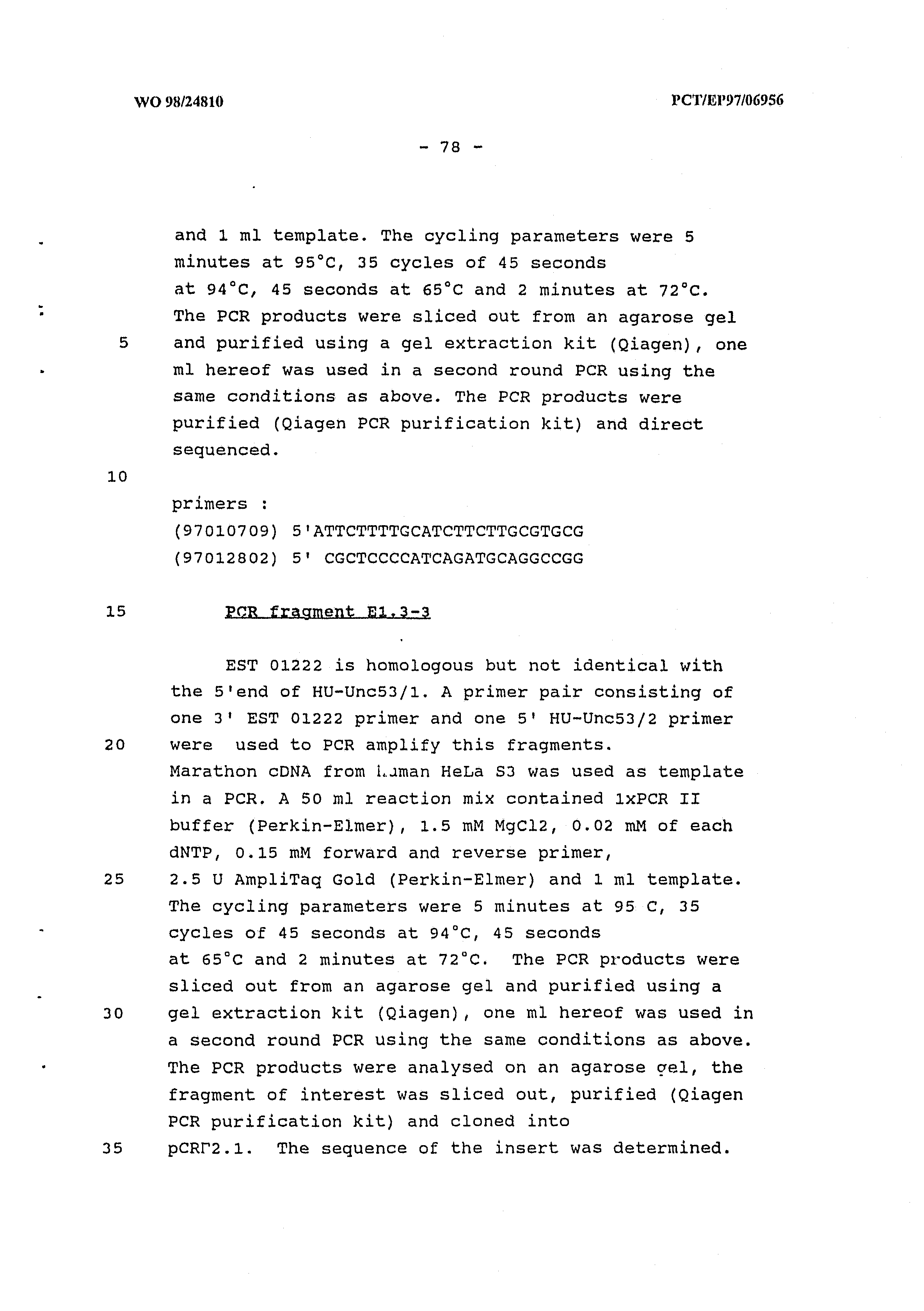 au 1998 056622 a vertebrate homologues of unc 53 protein of c