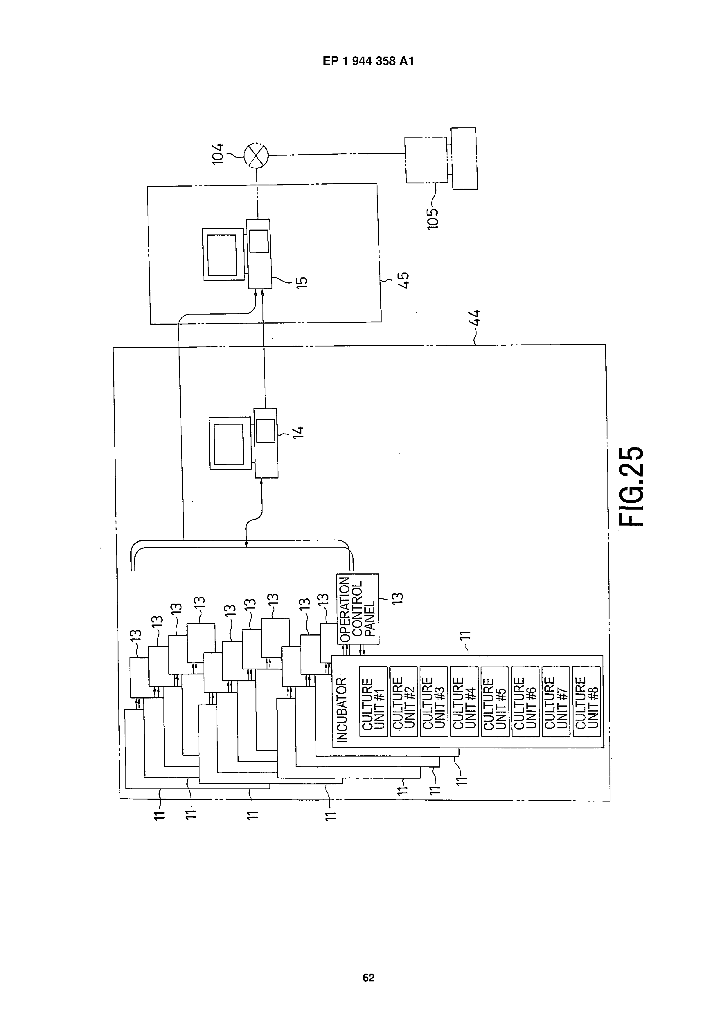 EP 1944358 A1 - Cell Culture Apparatus, Cell Culture Method