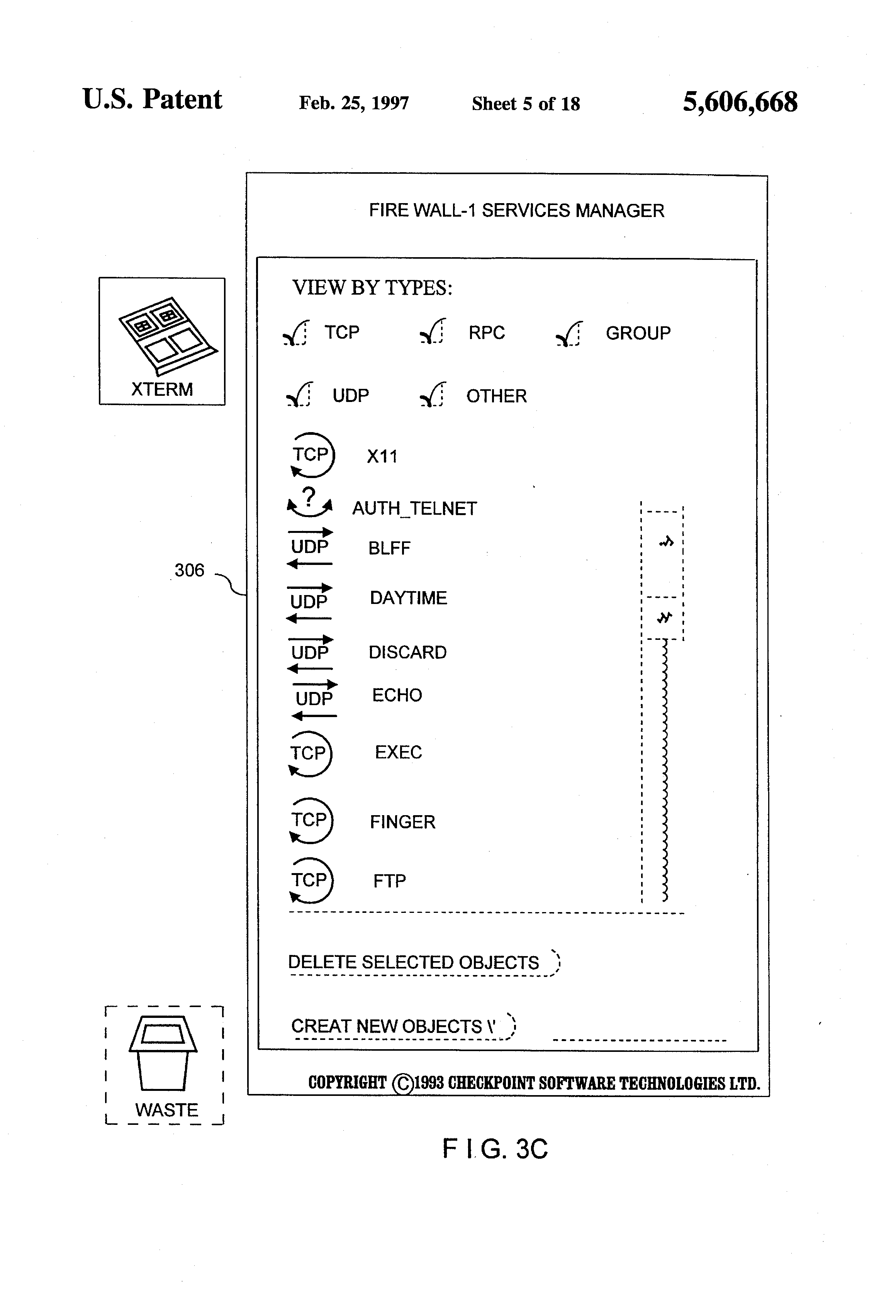 US 5606668 A - System For Securing Inbound And Outbound Data