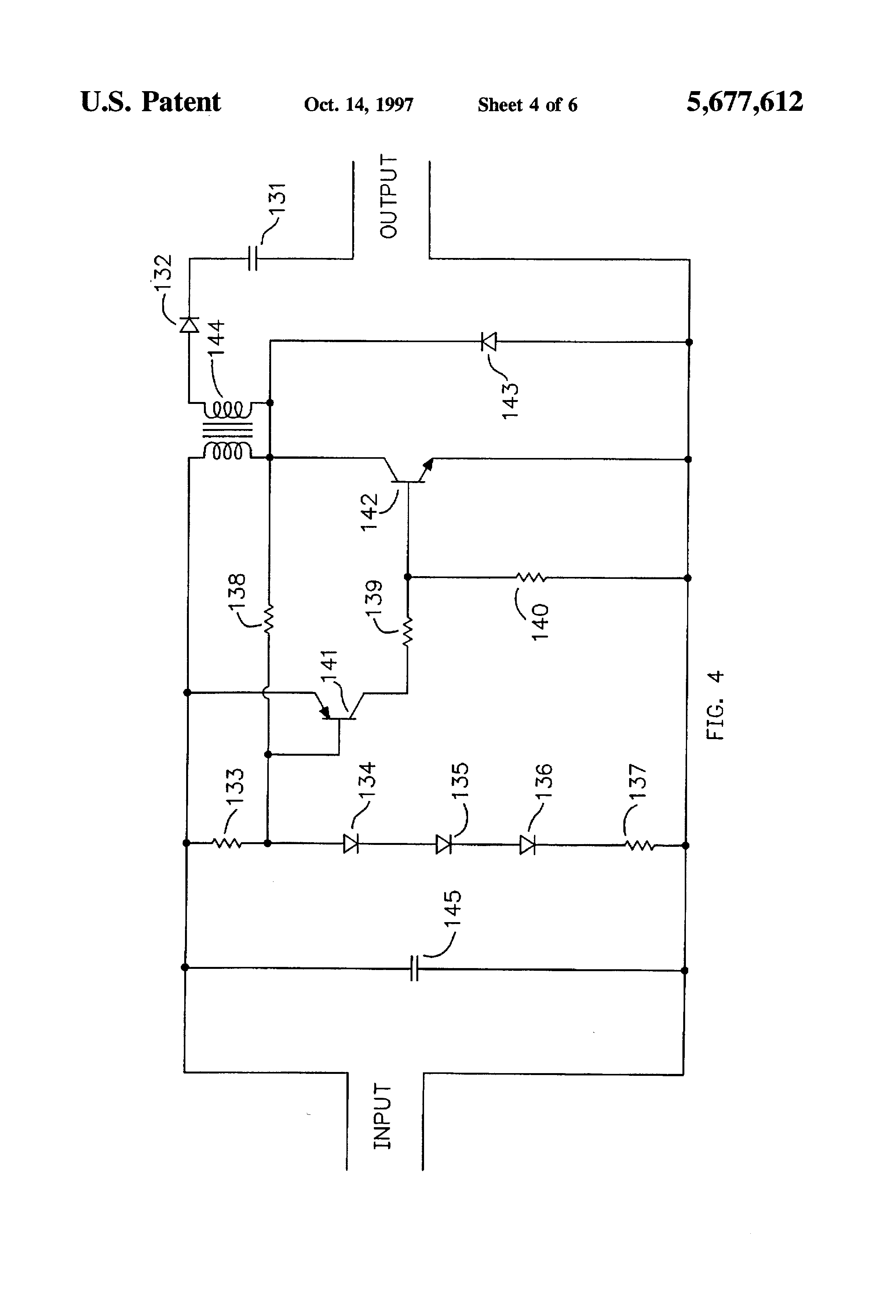 Us 5677612 A Lead Acid Battery Desulfator Rejuvenator The Lens Circuit Diagram Previous Next