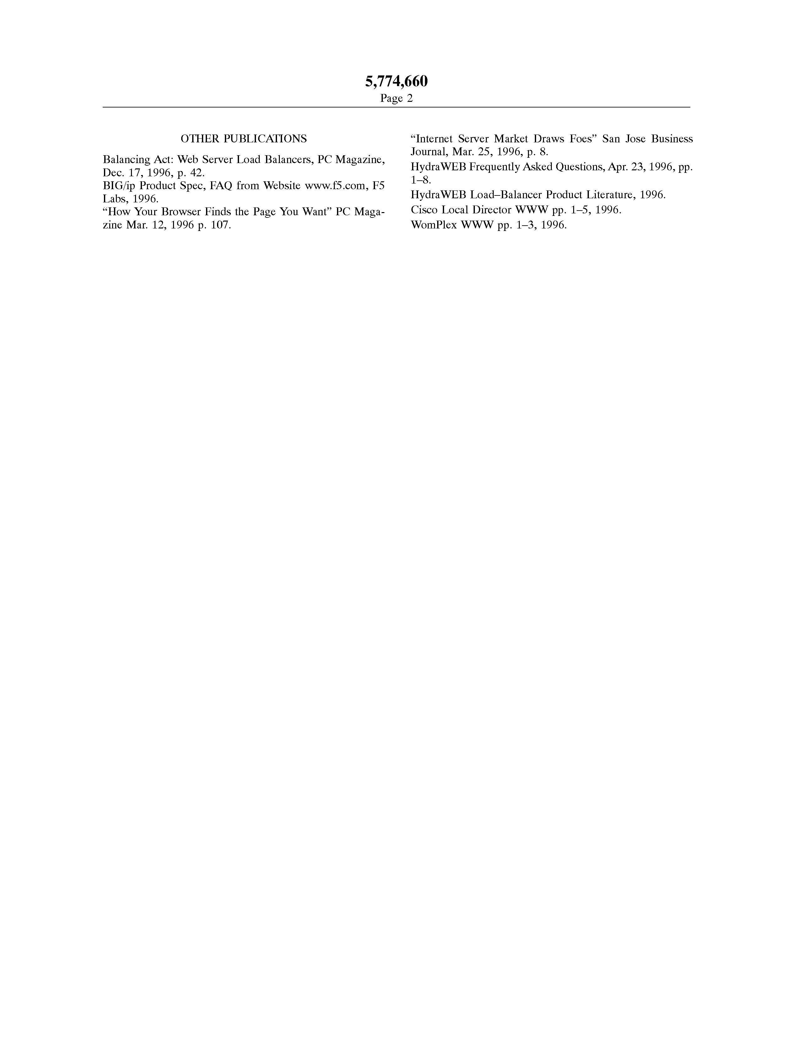 US 5774660 A - World-wide-web Server With Delayed Resource