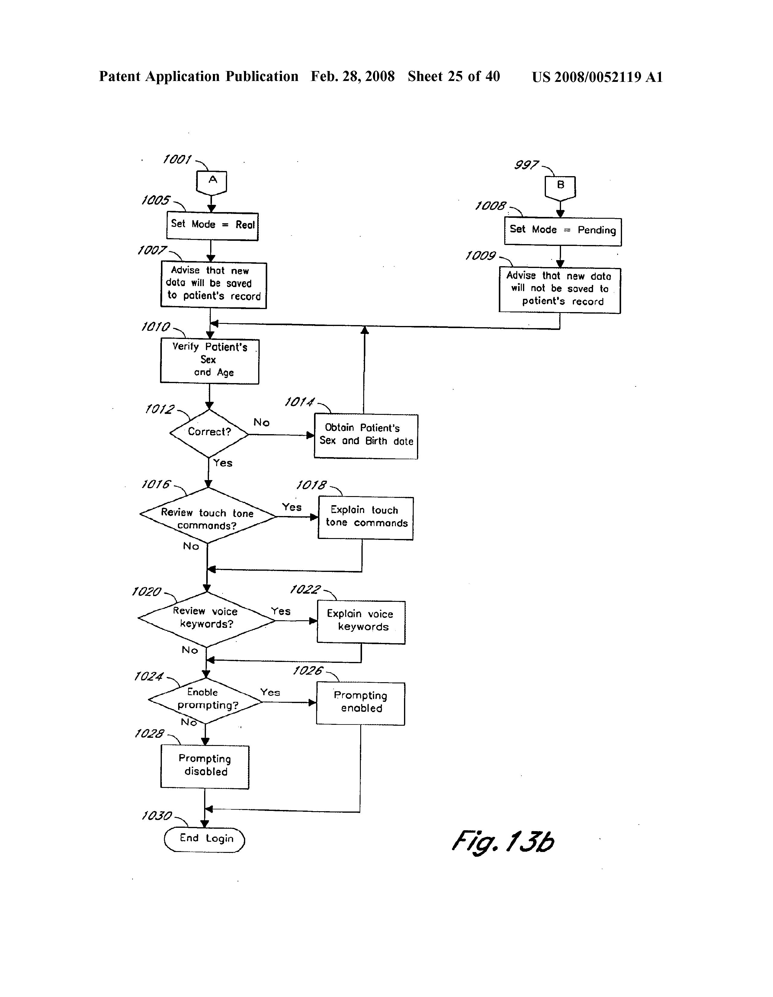 US 2008/0052119 A1 - Computerized Medical Diagnostic And
