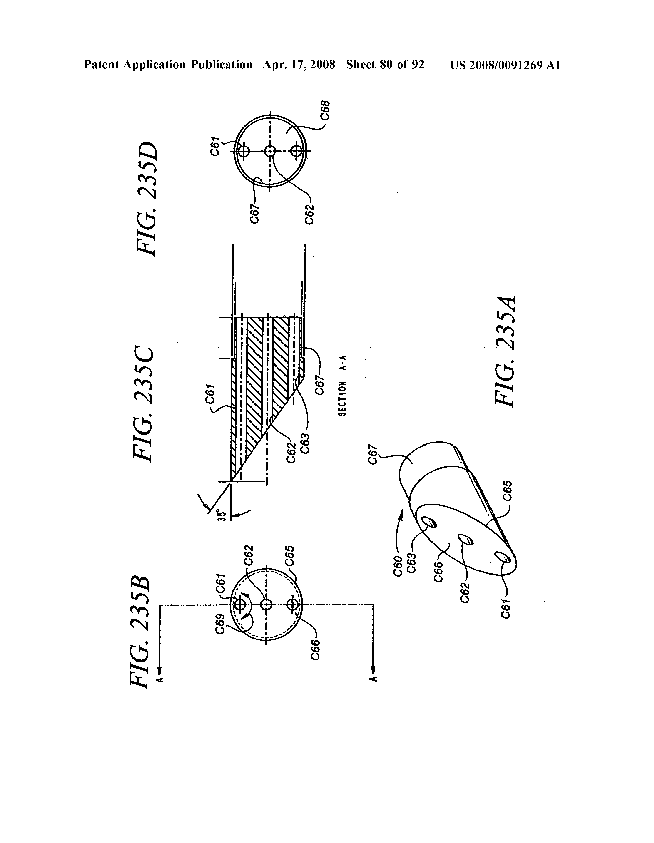 Us 2008 0091269 A1 Minimally Invasive Apparatus To Manipulate And C61 Wiring Diagram Page 81 136