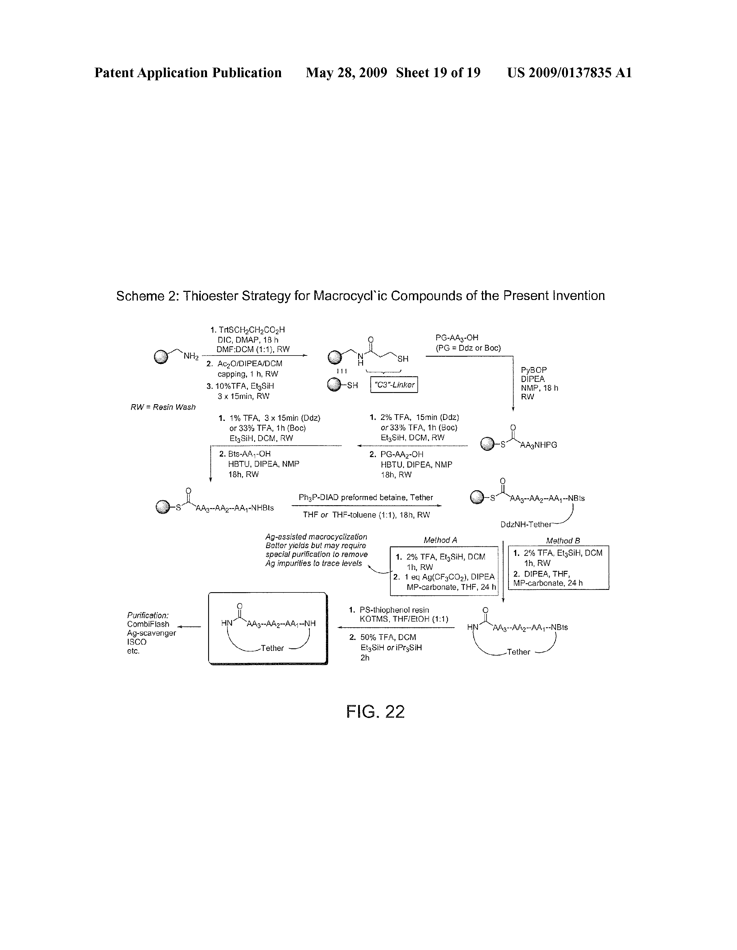 US 2009/0137835 A1 - Processes For Intermediates For Macrocyclic