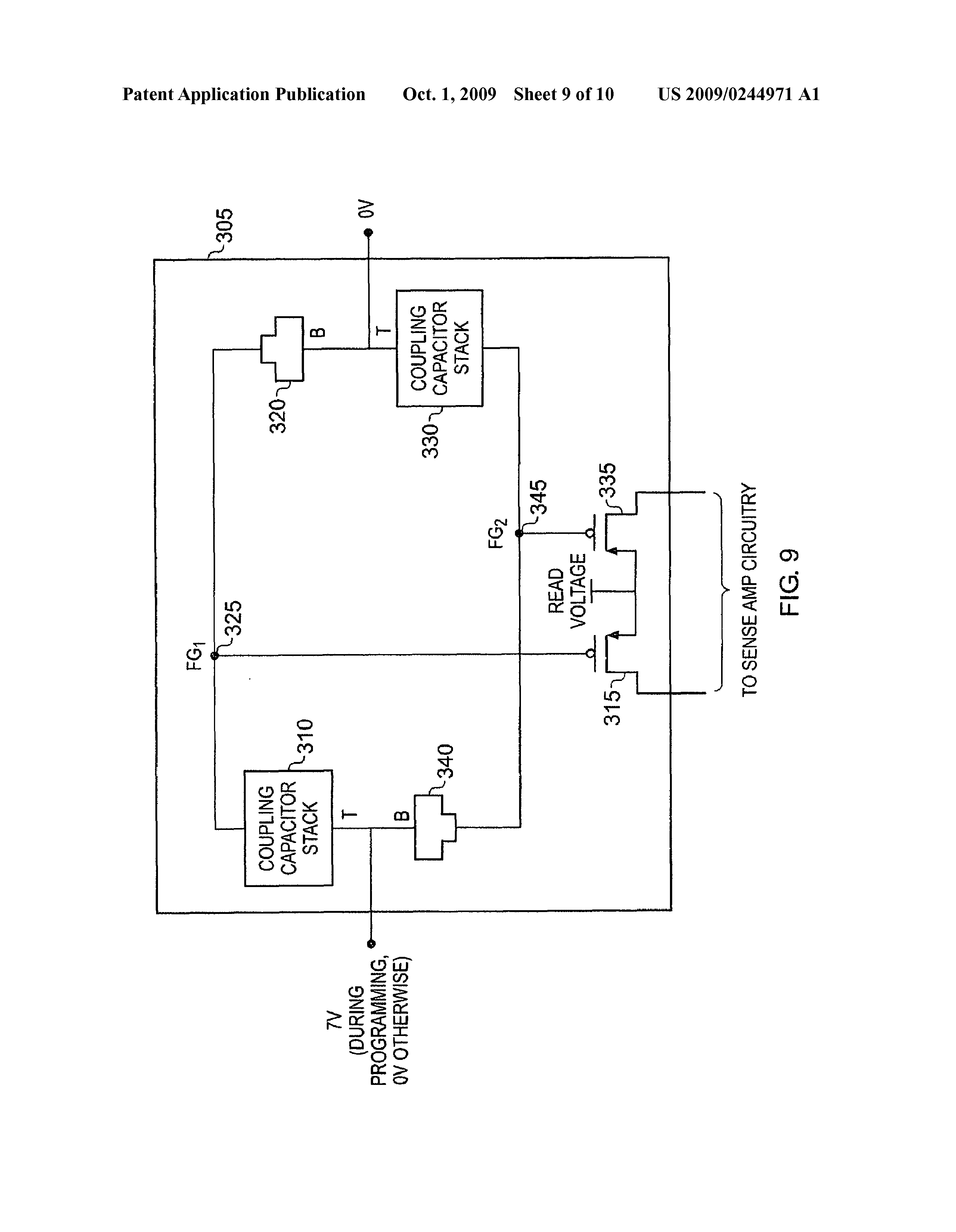 Gb 2458763 A Memory Cell With Read Transistor Tunnelling How To Place Coupling Capacitor In Circuit Previous Next