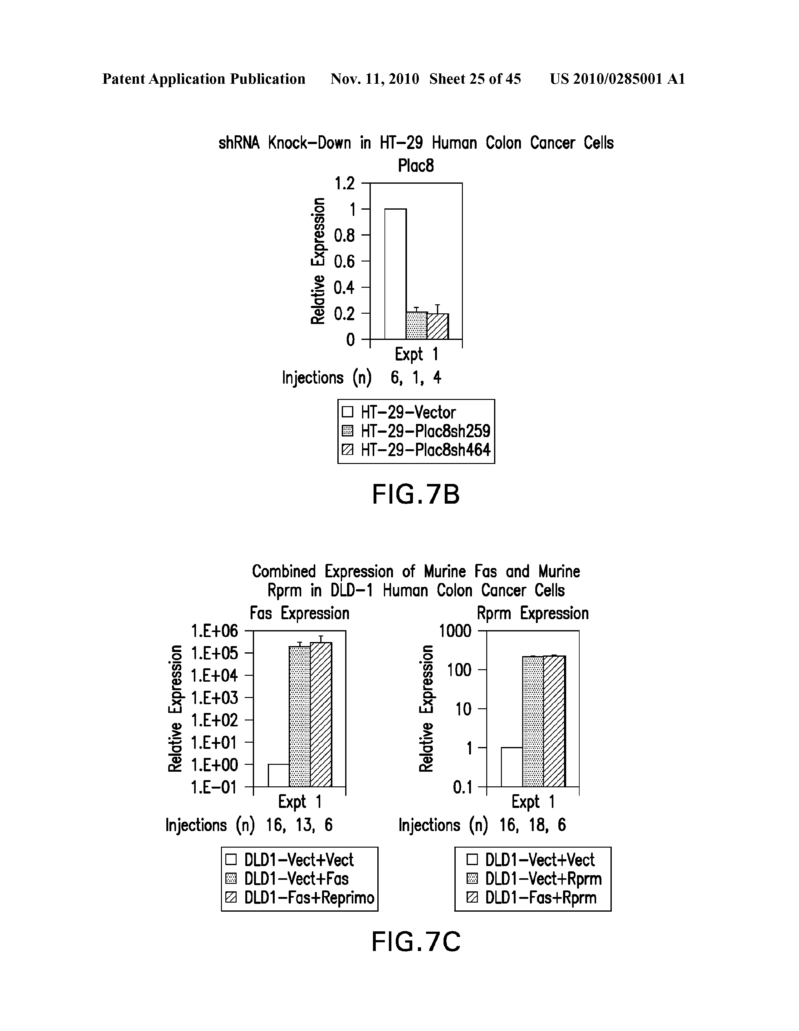 US 2010/0285001 A1 - Method And Compositions Related To Synergistic