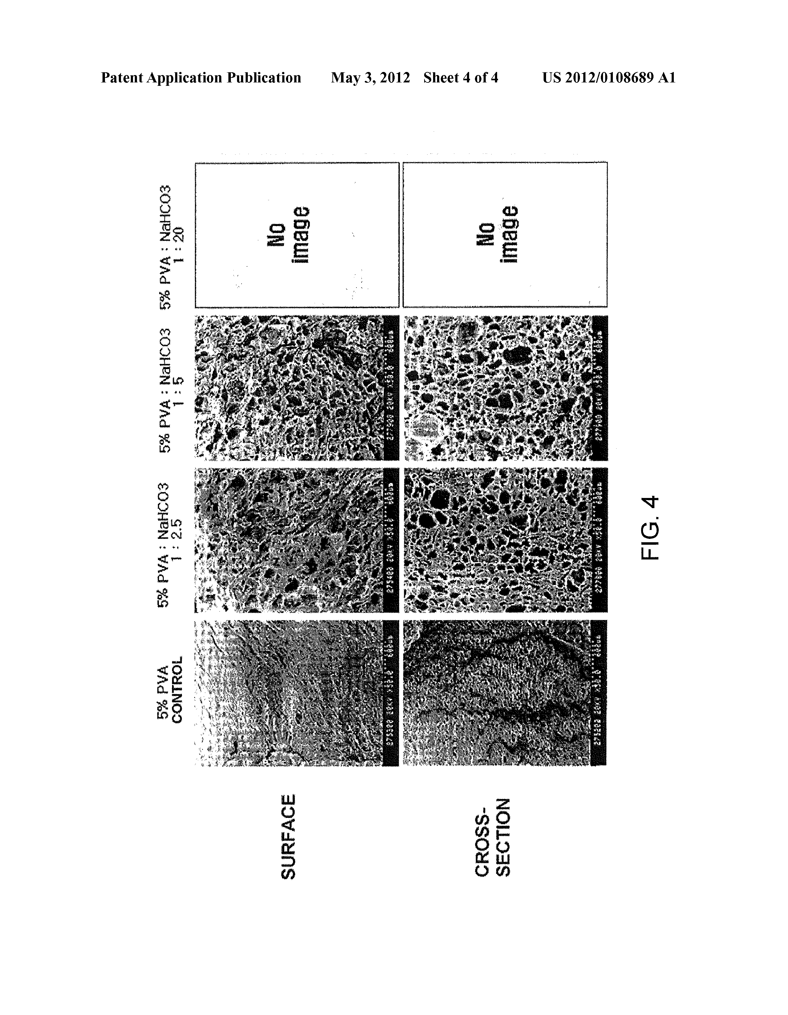US 2012/0108689 A1 - Process For Forming A Porous Pva