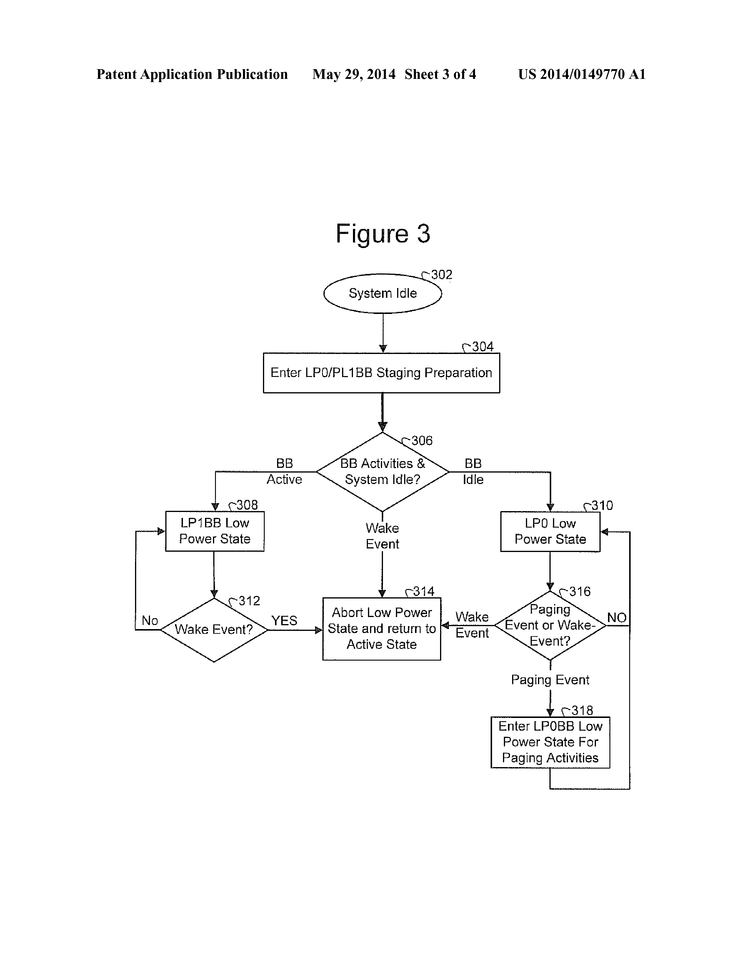 CN 103838352 A - Low-power States For A Computer System With
