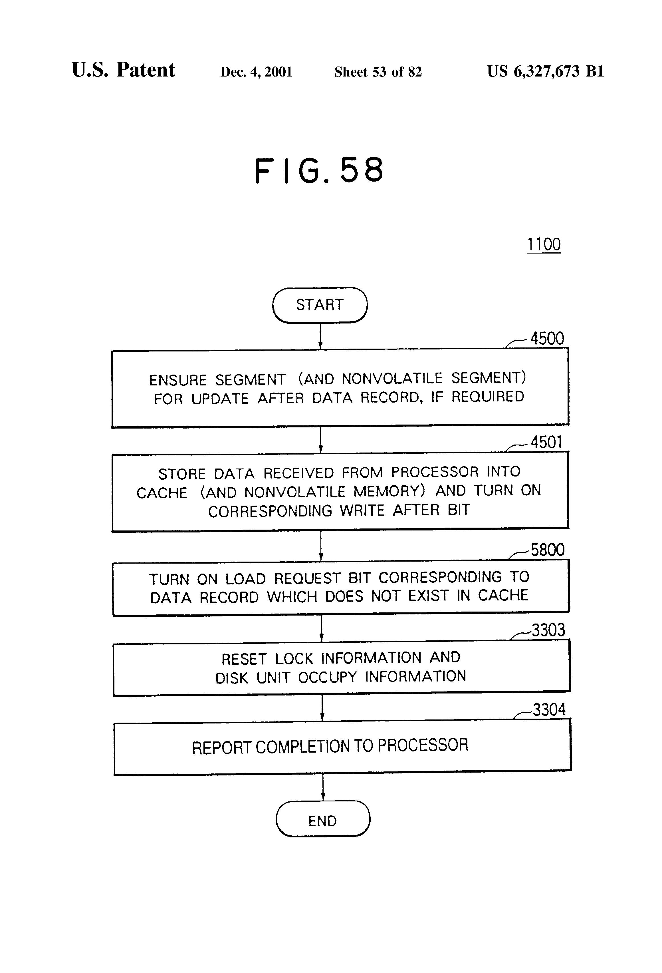 US 6327673 B1 - Storage Unit Subsystem - The Lens - Free