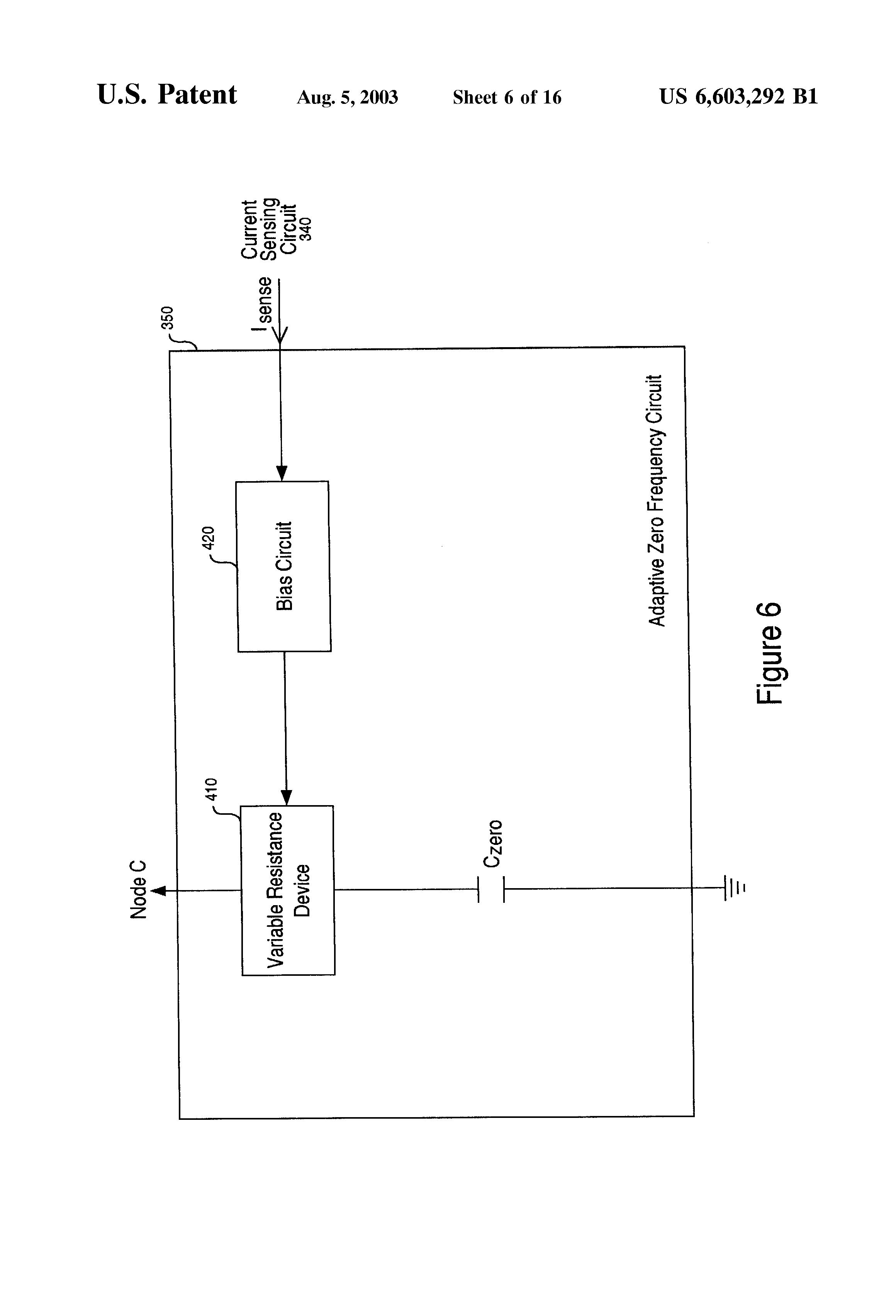Us 6603292 B1 Ldo Regulator Having An Adaptive Zero Frequency Current Detector Circuit Page 7 30