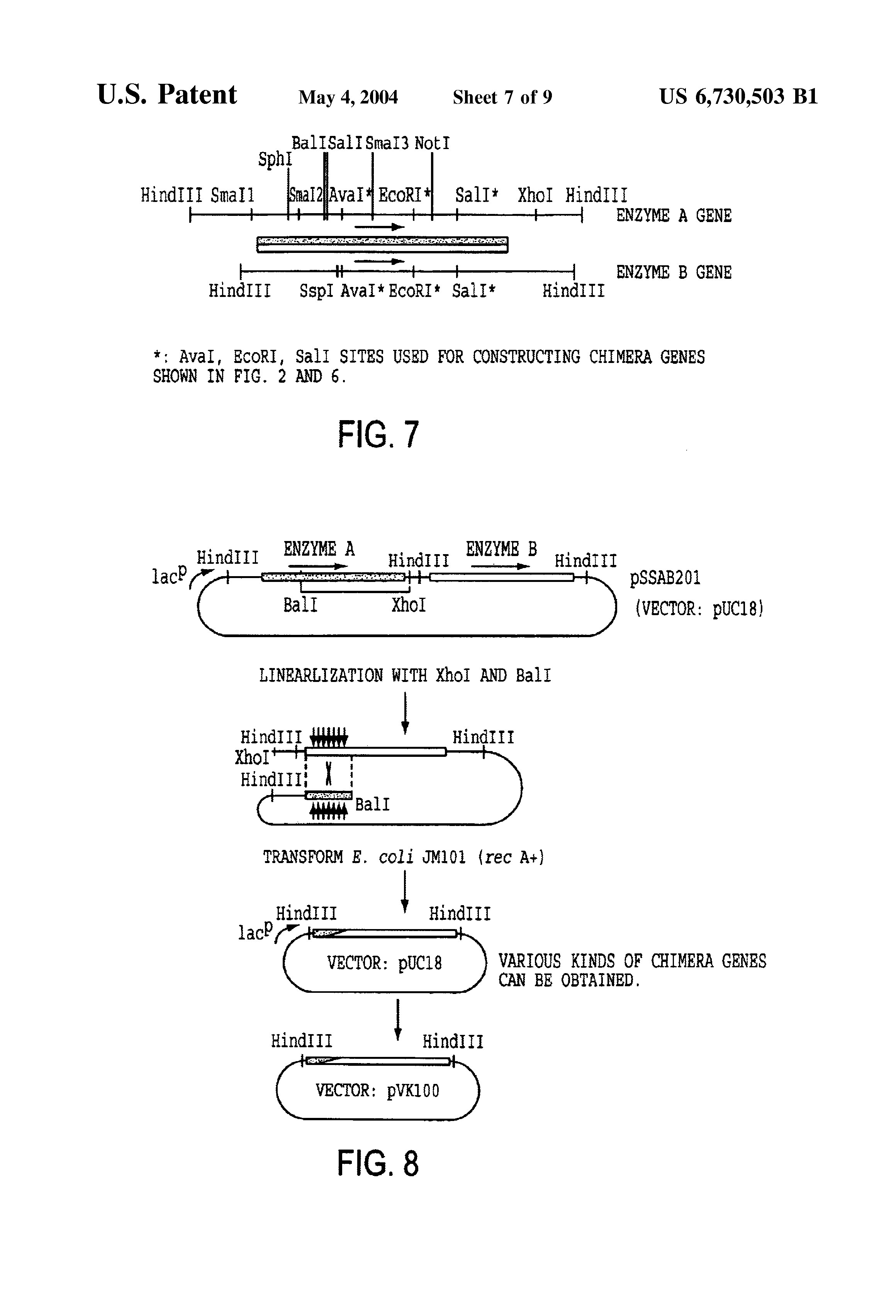 US 6730503 B1 - Alcohol/aldehyde Dehydrogenase - The Lens - Free