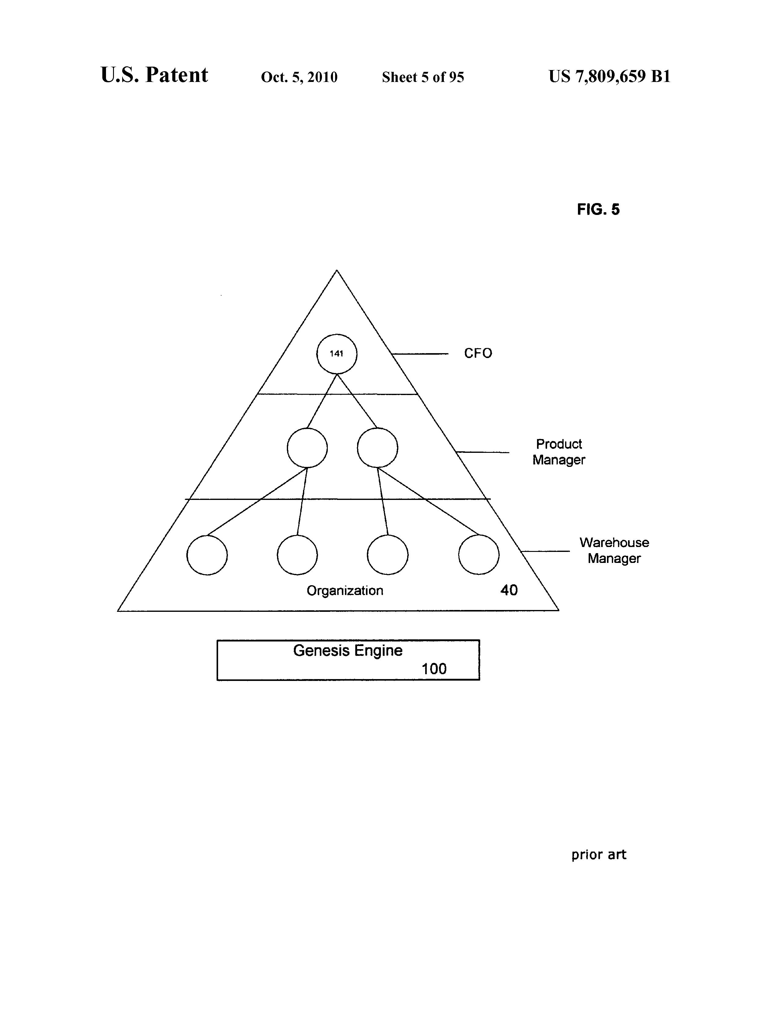 Us 7809659 B1 Method For Presenting Optimal Internet Keyword Based Genesis Engine Diagram Page 6 133