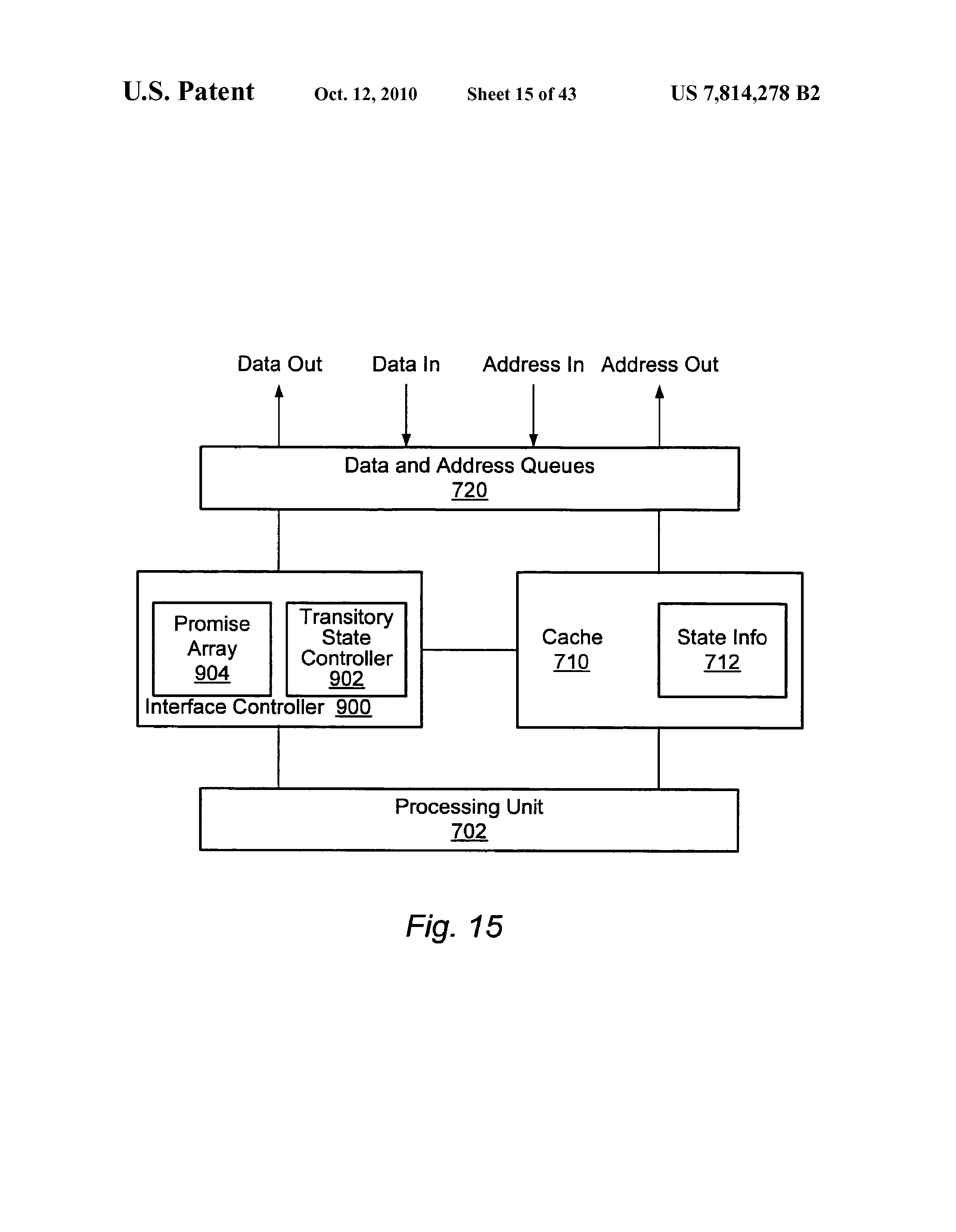 US 7814278 B2 - Multi-node System With Response Information