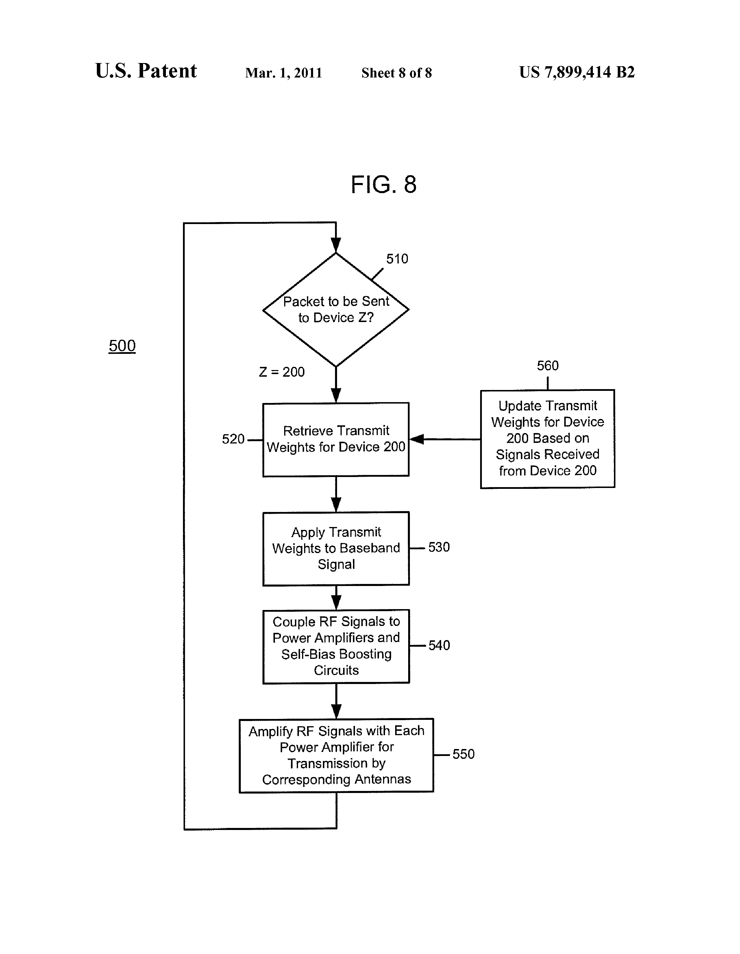 US 7899414 B2 - Control Of Power Amplifiers In Devices Using