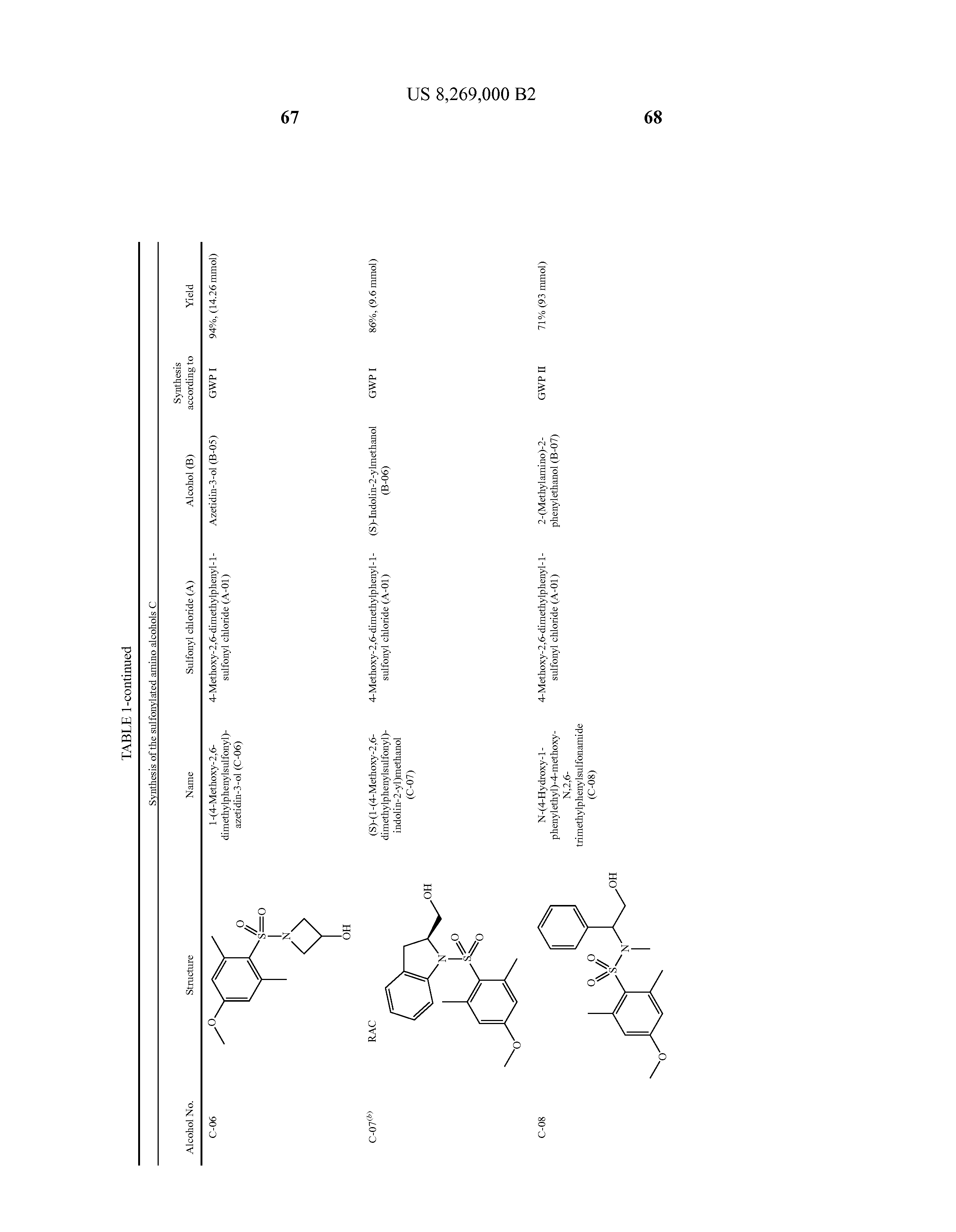 US 8269000 B2 - Substituted Pyrimidine And Triazine