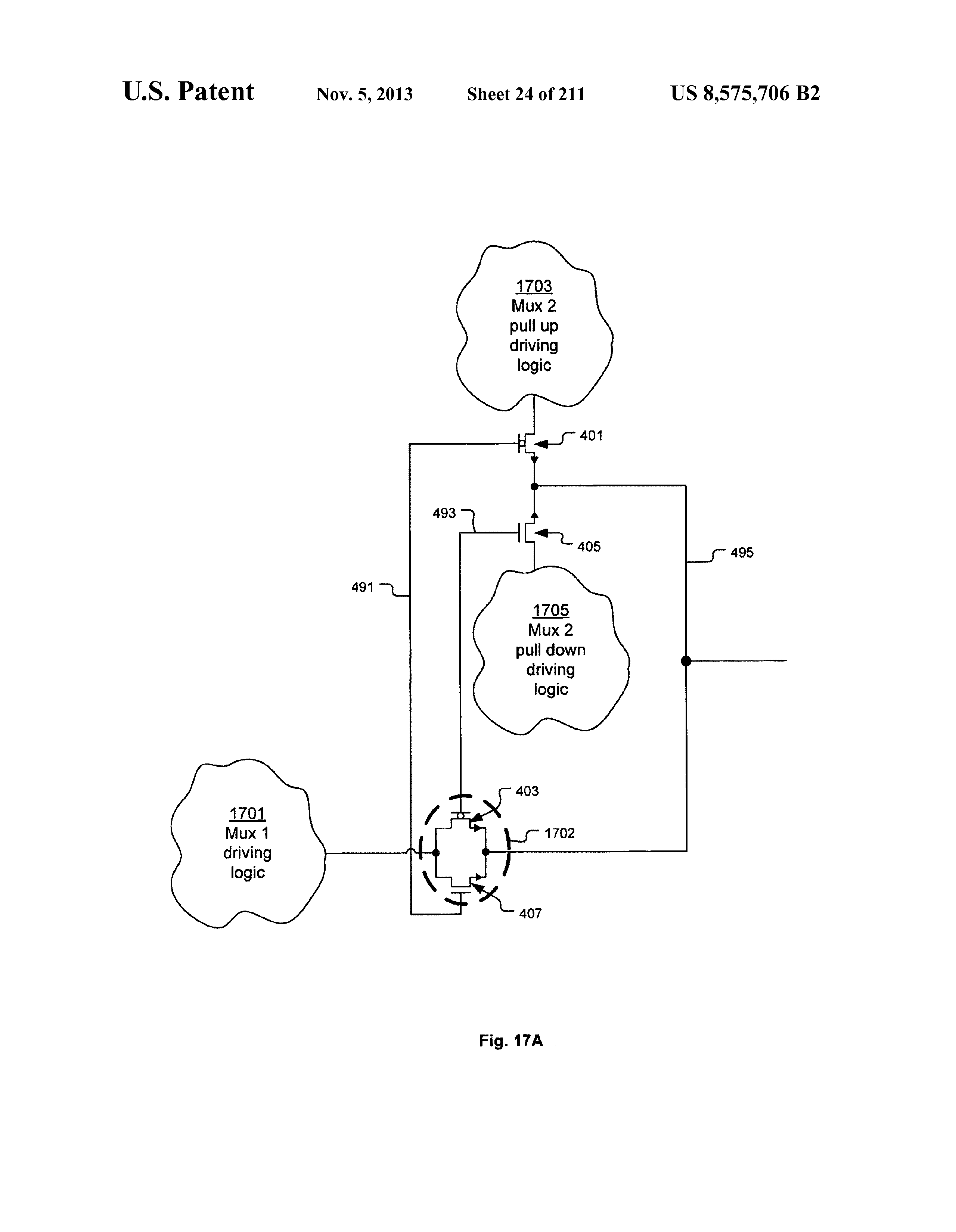 Us 8575706 B2 Integrated Circuit Including Cross Coupled Logic Diagram Mux Page 34 250
