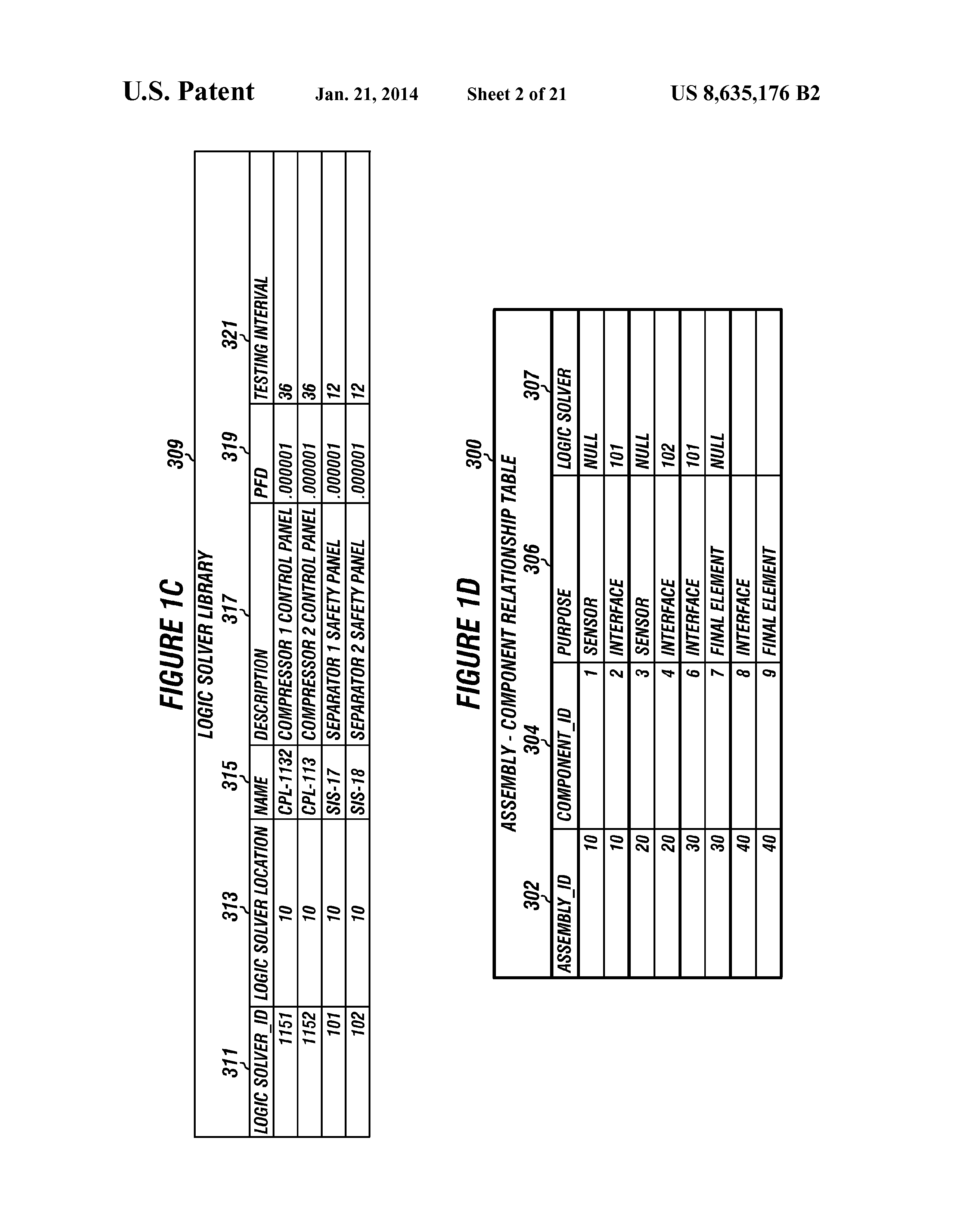 Us 8635176 B2 System To Create And Use Test Plans Usable In Logic Combi 30 Diagram Document Preview