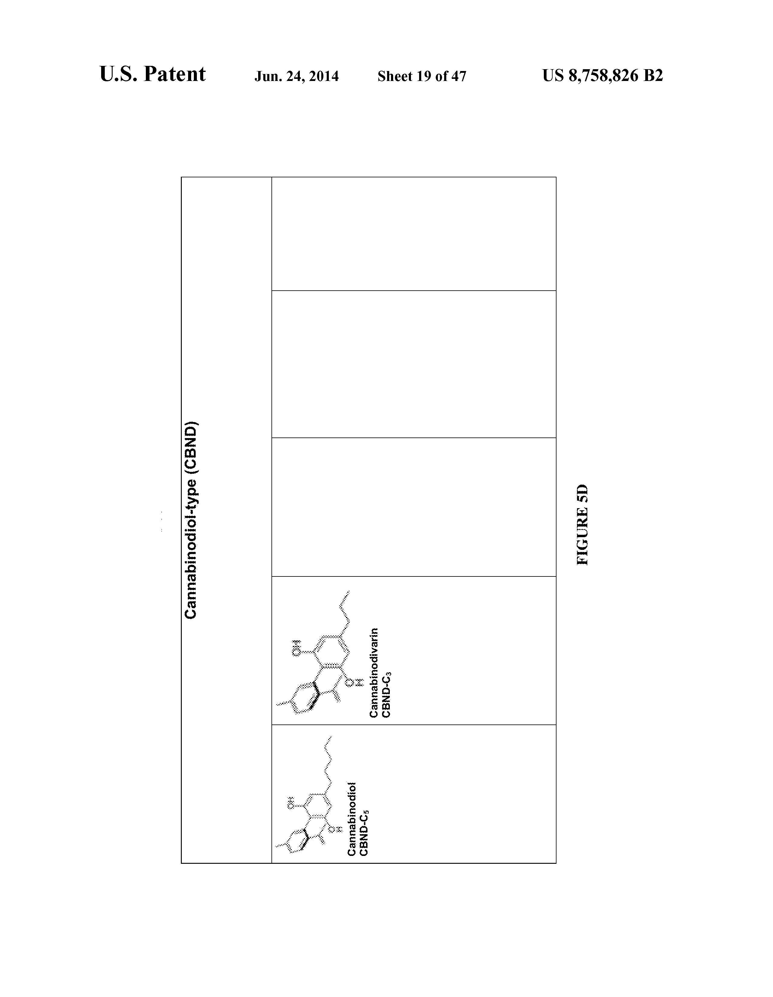 us 8758826 b2 cannabinoid receptor binding agents compositions
