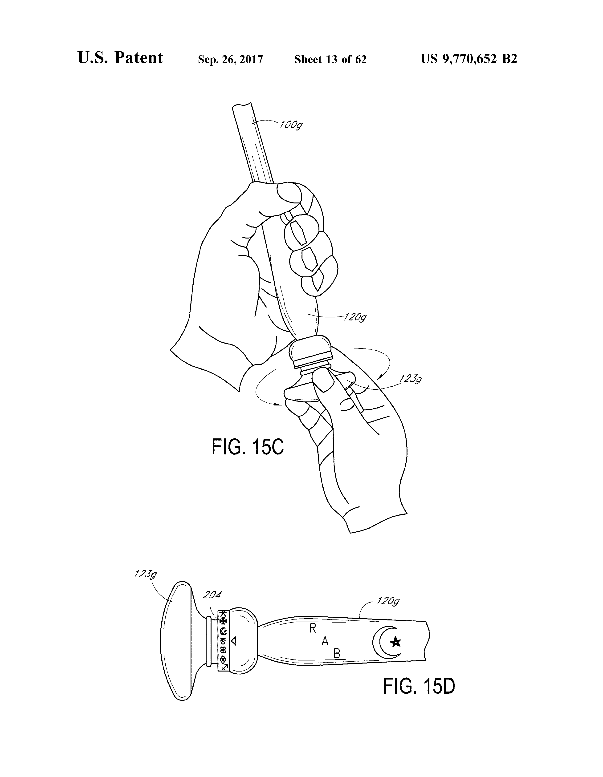 Us 9770652 B2 Wireless Interactive Game Having Both Physical And Virtual Elements The Lens Free Open Patent And Scholarly Search