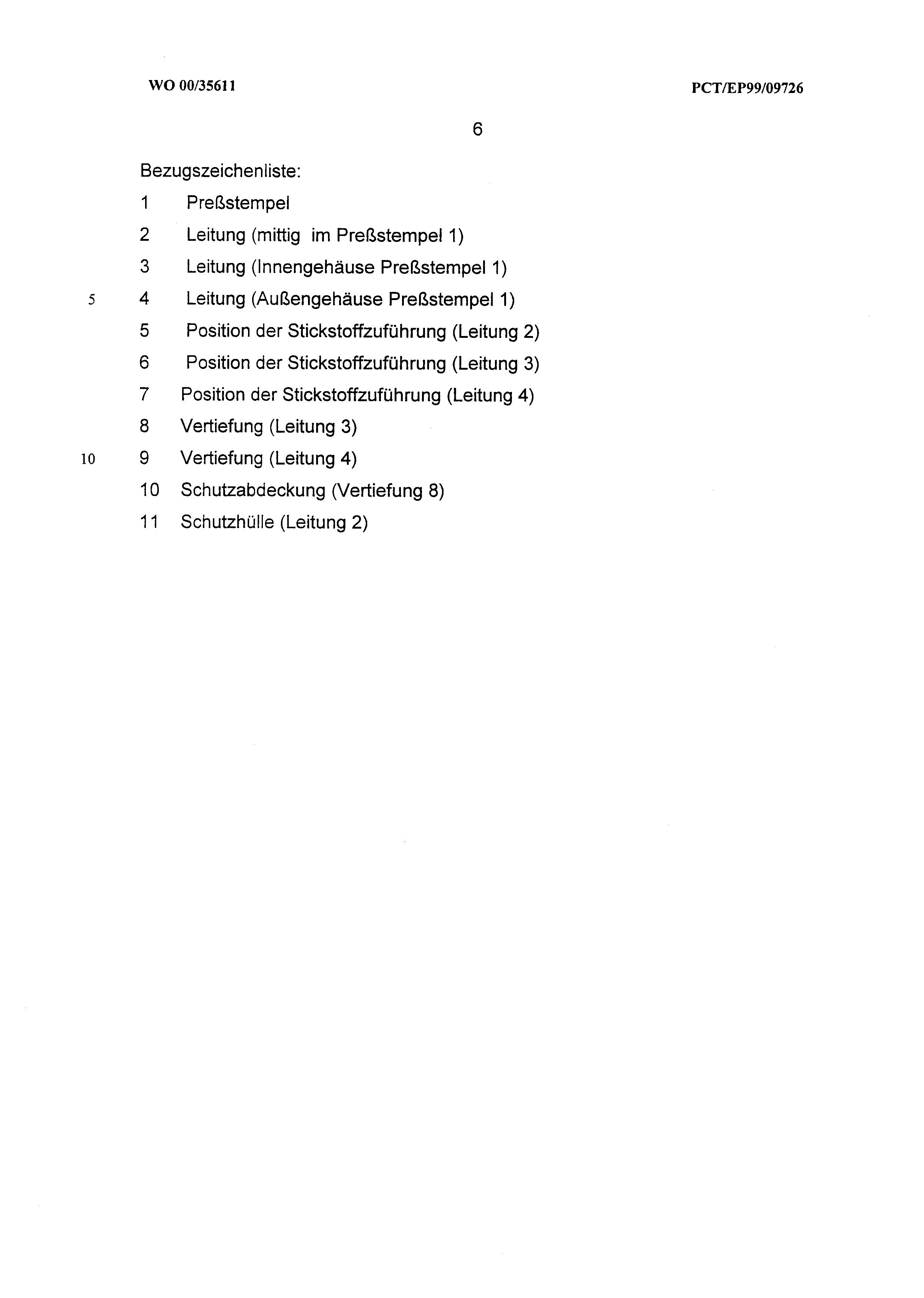 DE 19857790 A1 - Verfahren Zur Werkzeugkühlung Von Indirekt ...