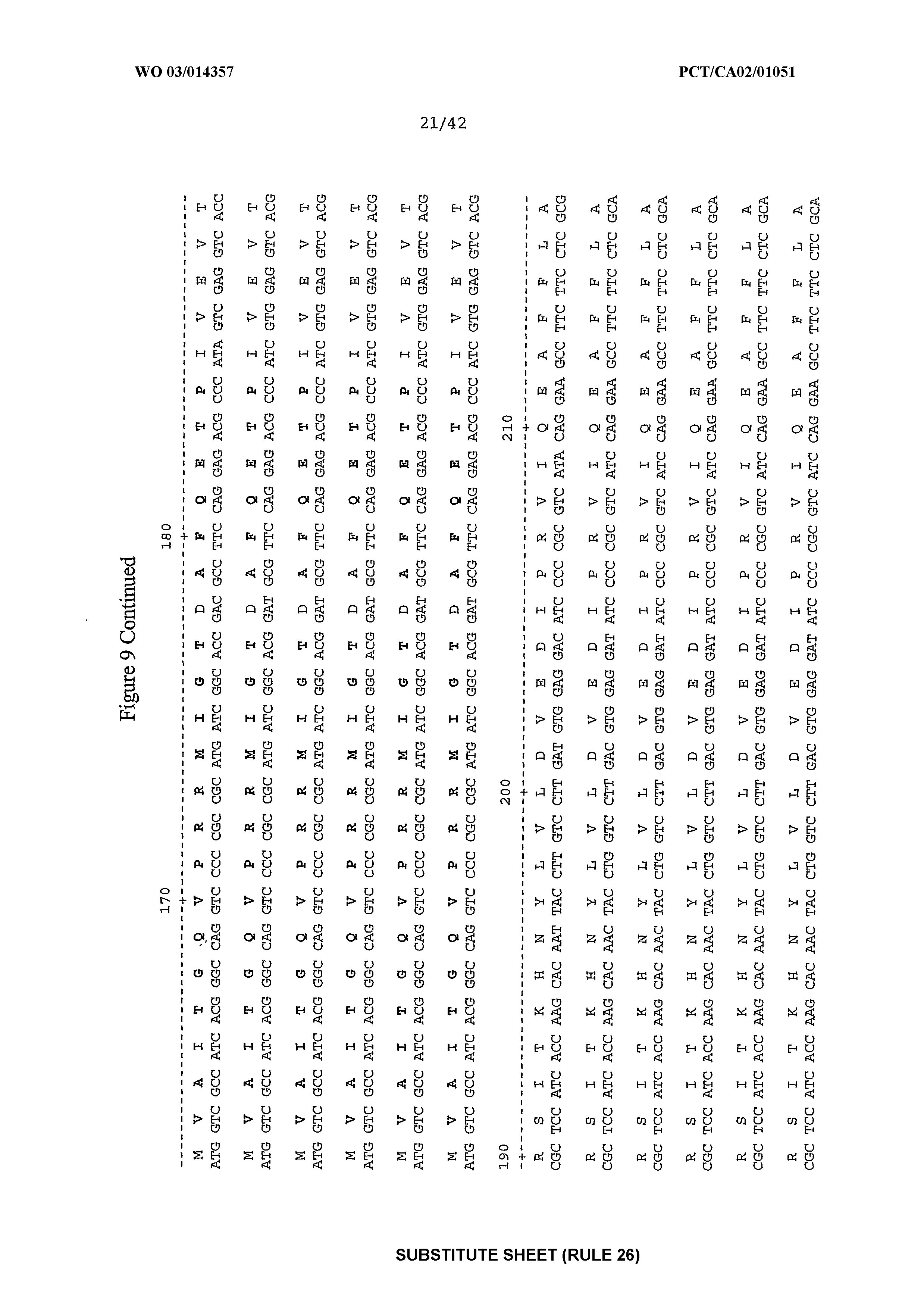 WO 2003/014357 A1 - Wheat Plants Having Increased Resistance To