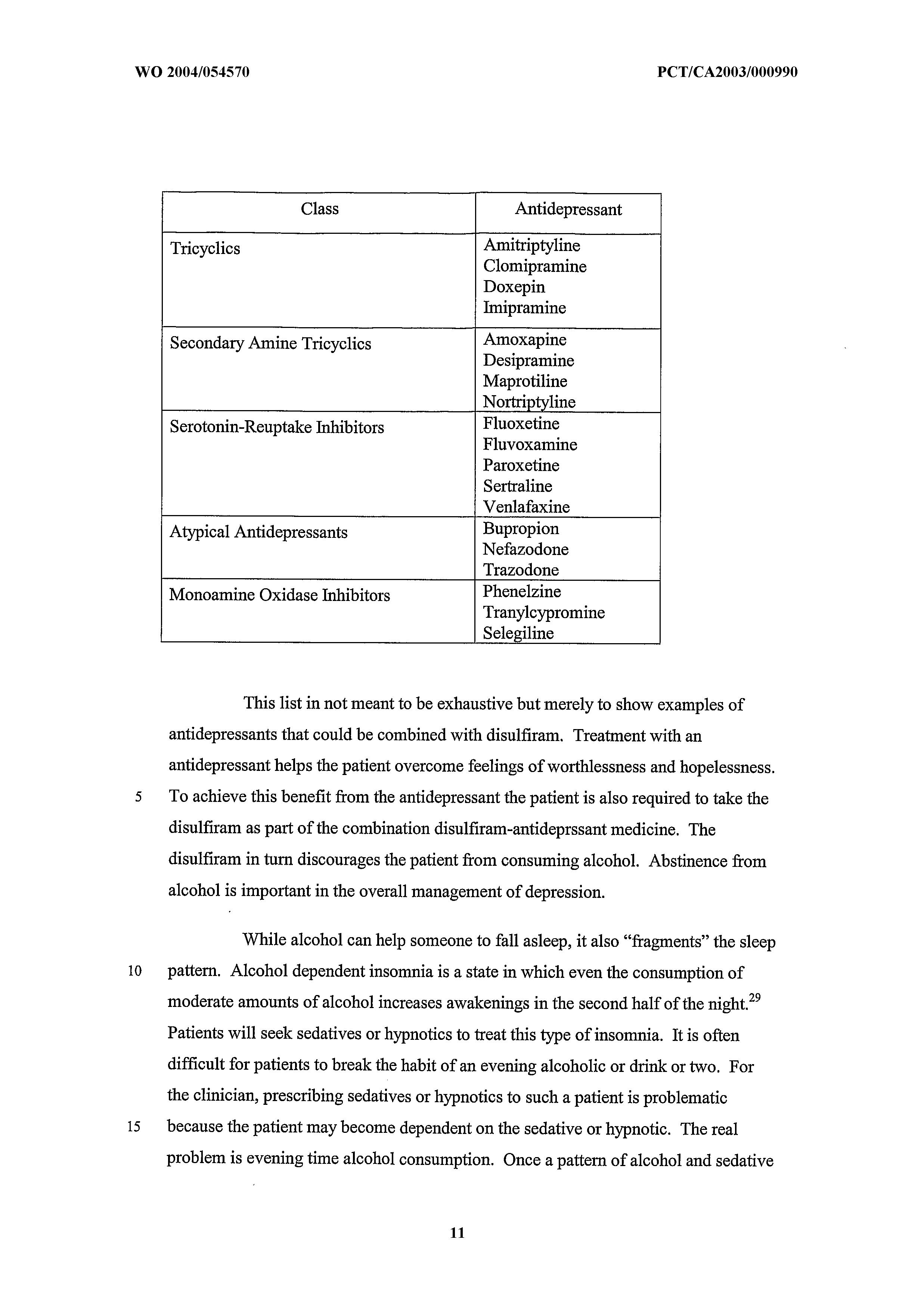 WO 2004/054570 A1 - Combinations Of Medicaments Comprising