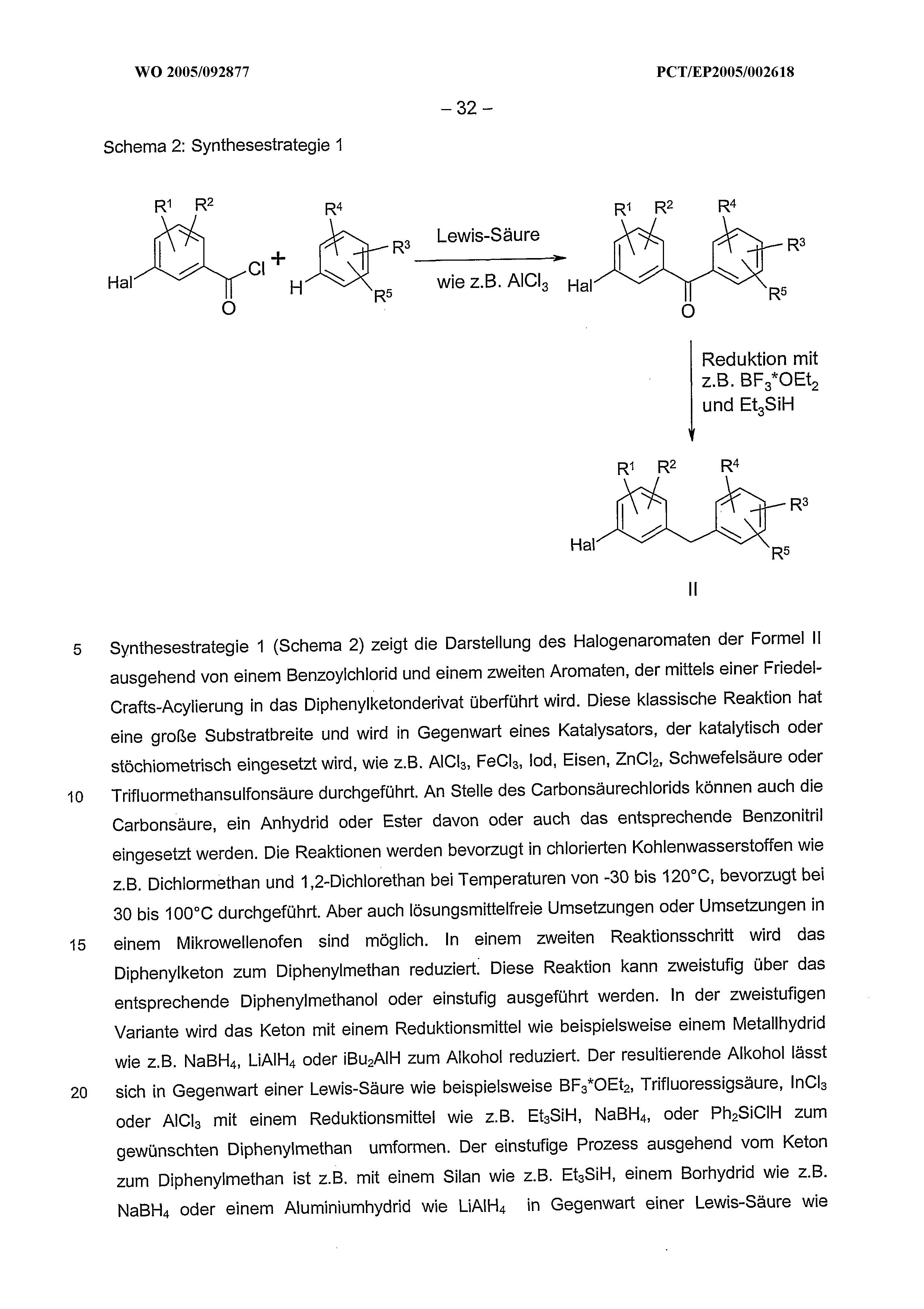 WO 2005/092877 A1 - Glucopyranosyl-substituted Benzol Derivatives ...