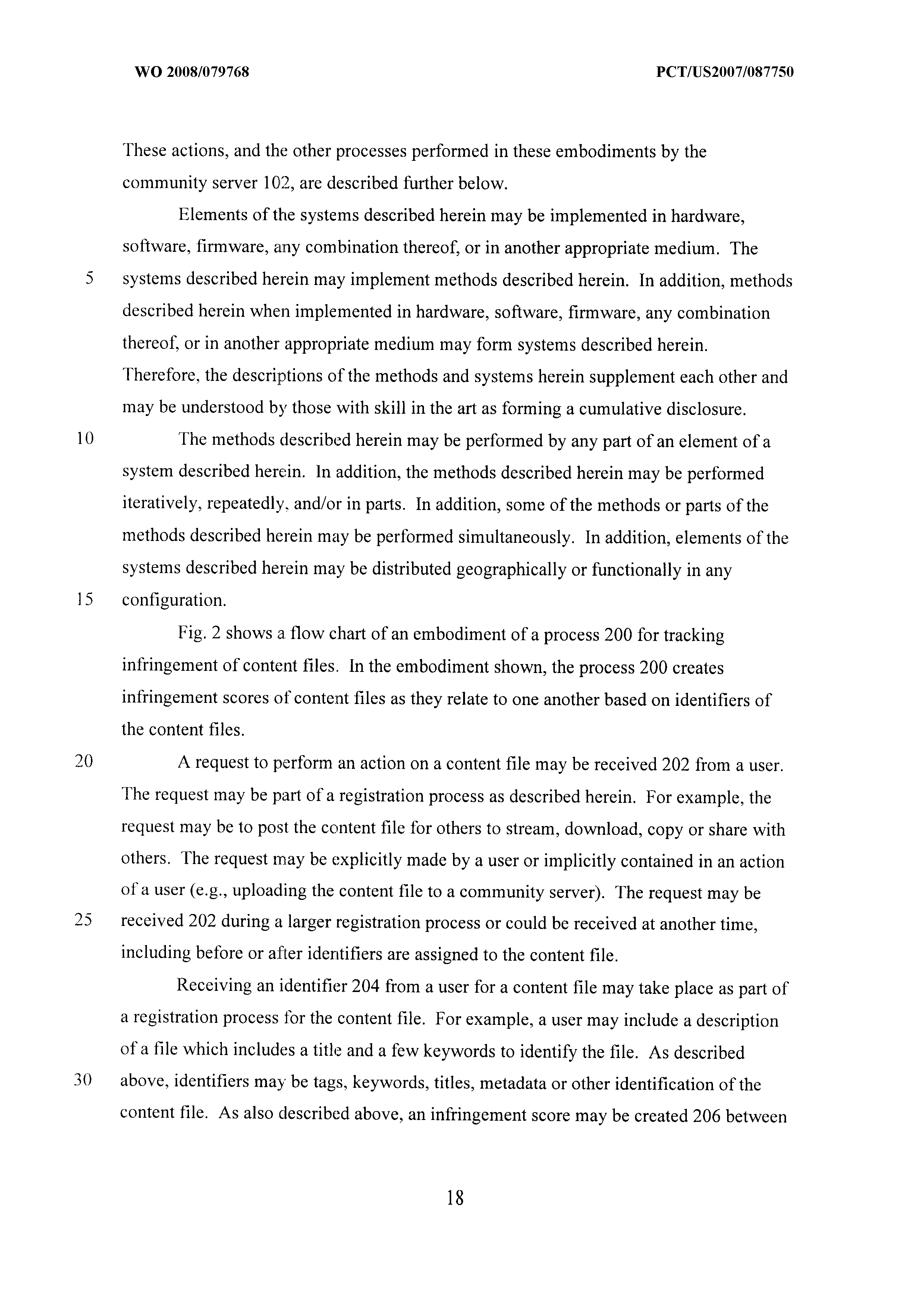 WO 2008/079768 A1 - Method And System For Unauthorized
