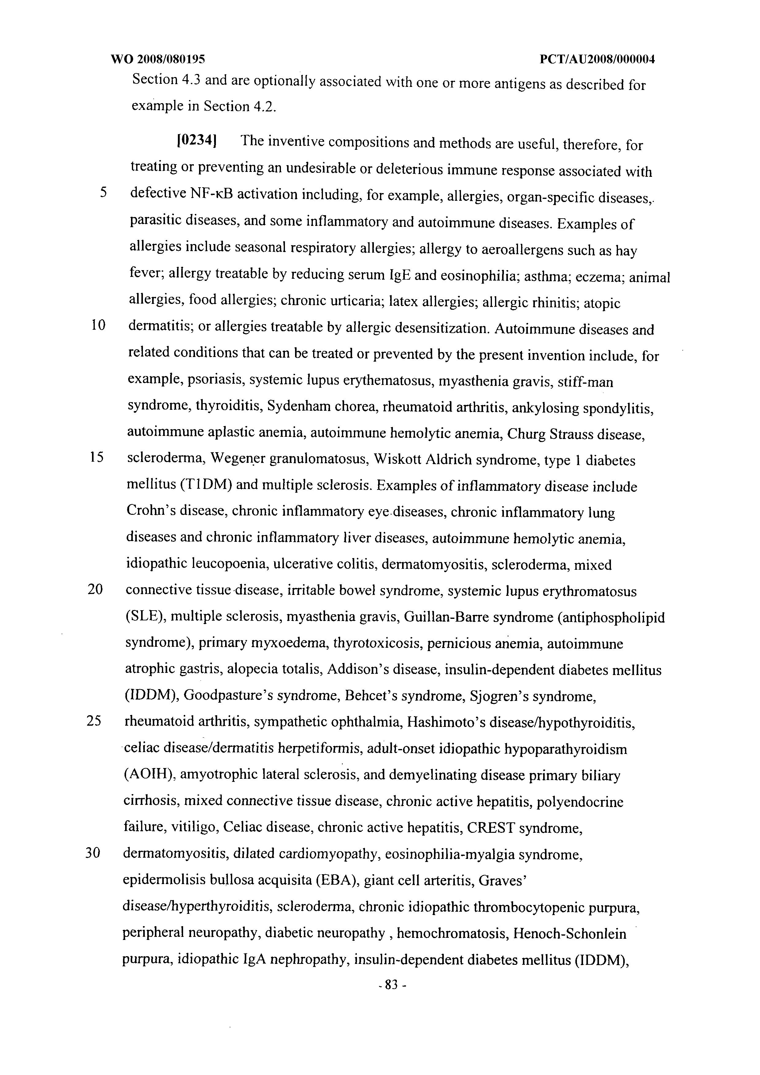 Wo 2008080195 A1 Compositions And Methods For Treating Or