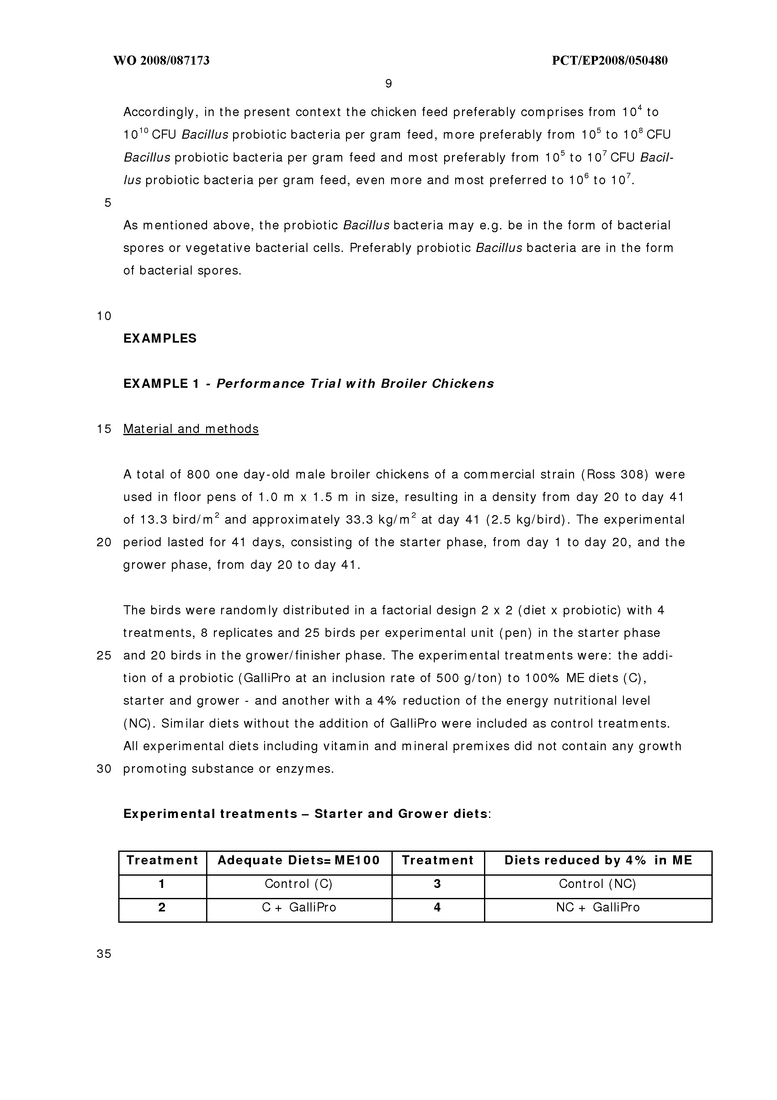 WO 2008/087173 A1 - Method To Produce Chickens - The Lens