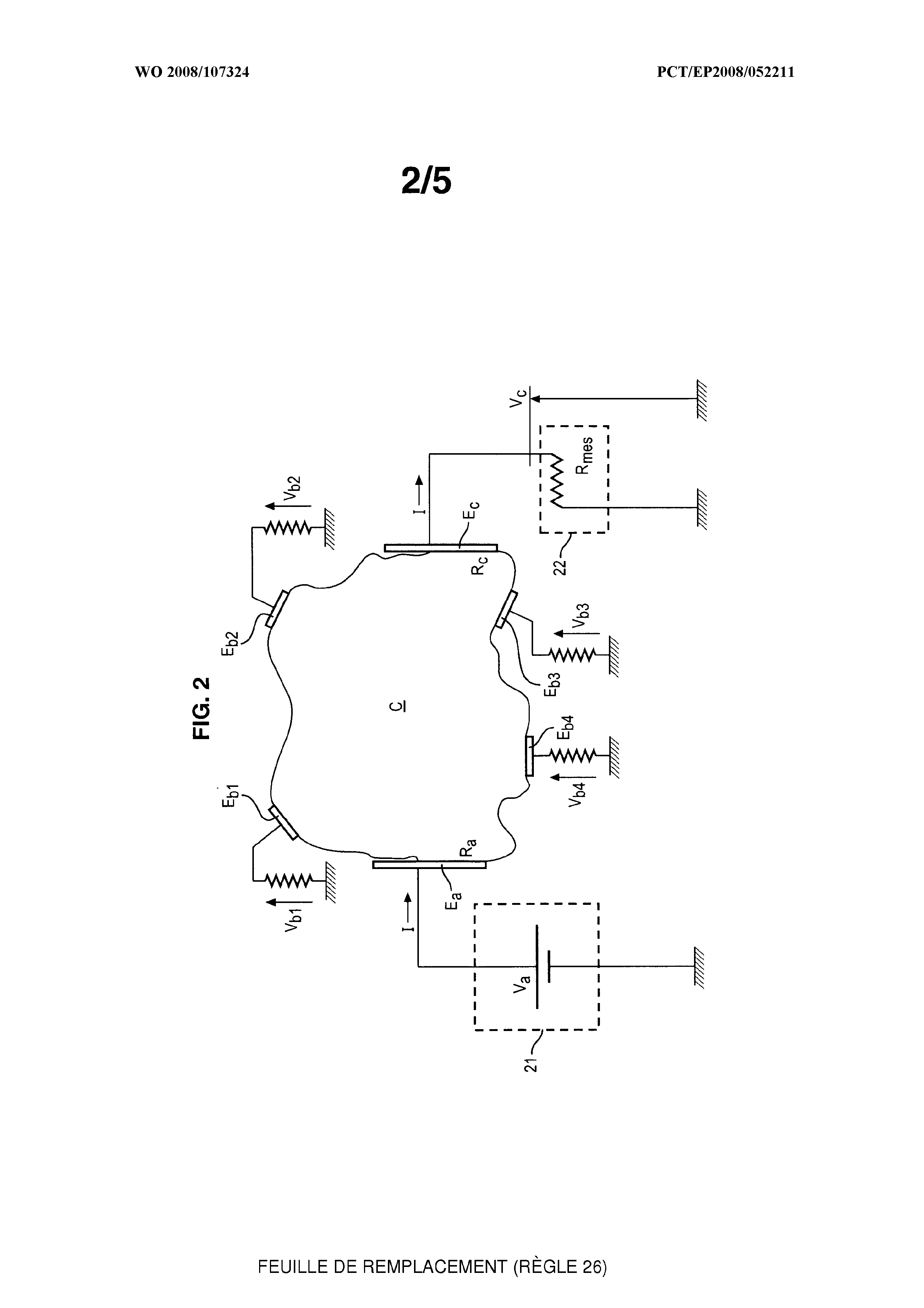 WO 2008/107324 A1 - Electrophysiological Analysis System - The Lens