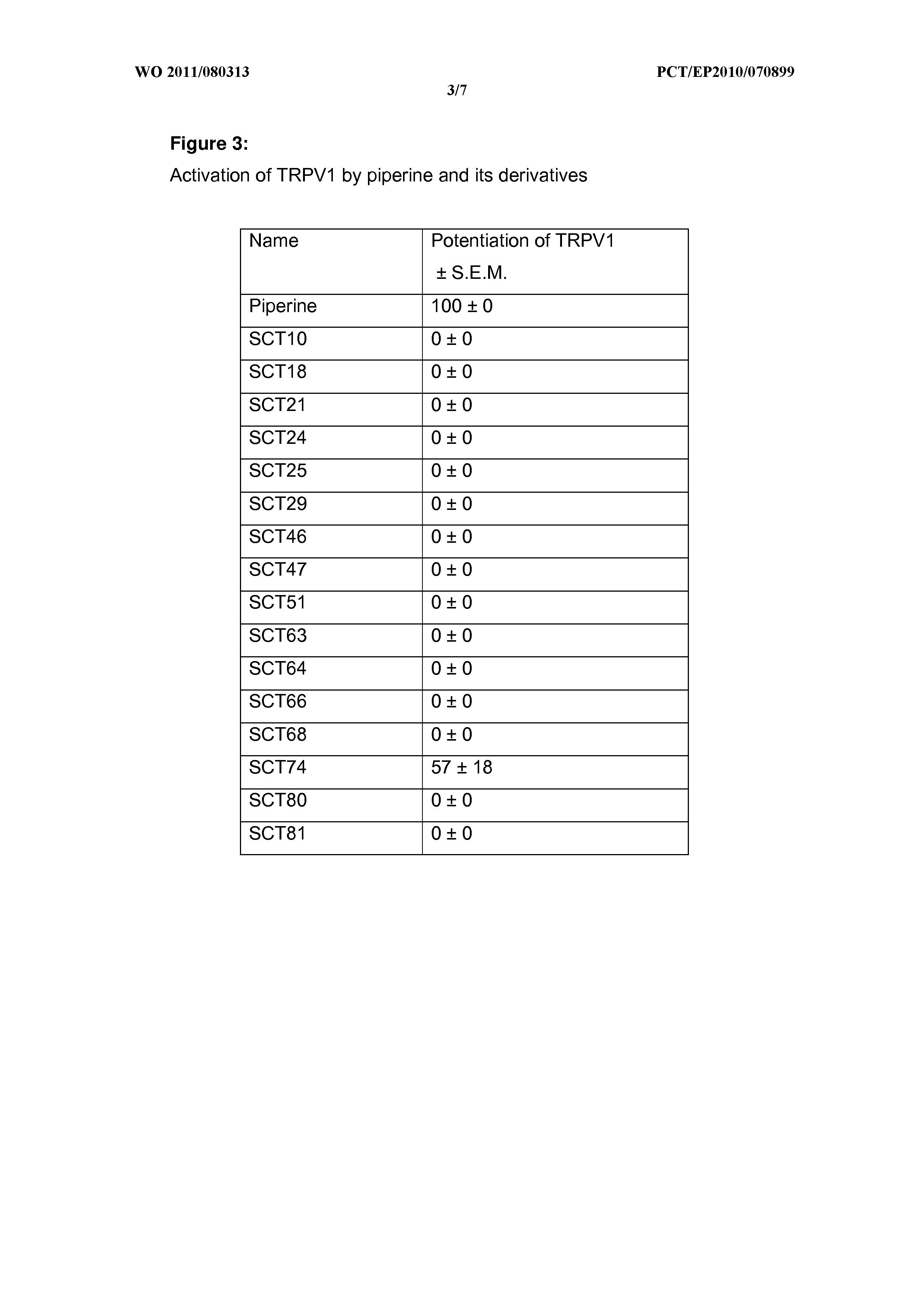 WO 2011/080313 A1 - Novel Piperine Derivatives As Gaba - A Receptors