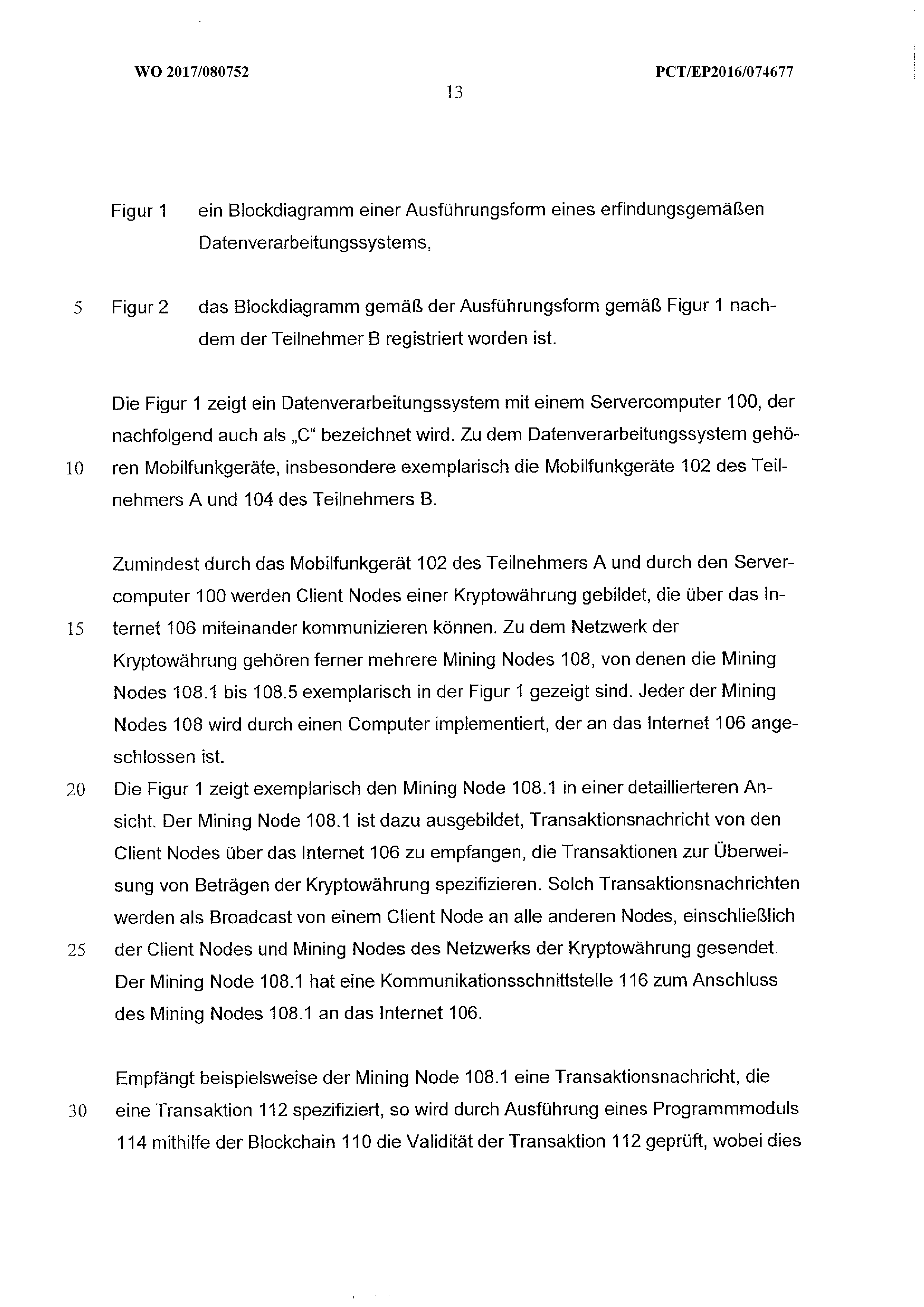 WO 2017/080752 A1 - Electronic Payment Method And Server Computer ...