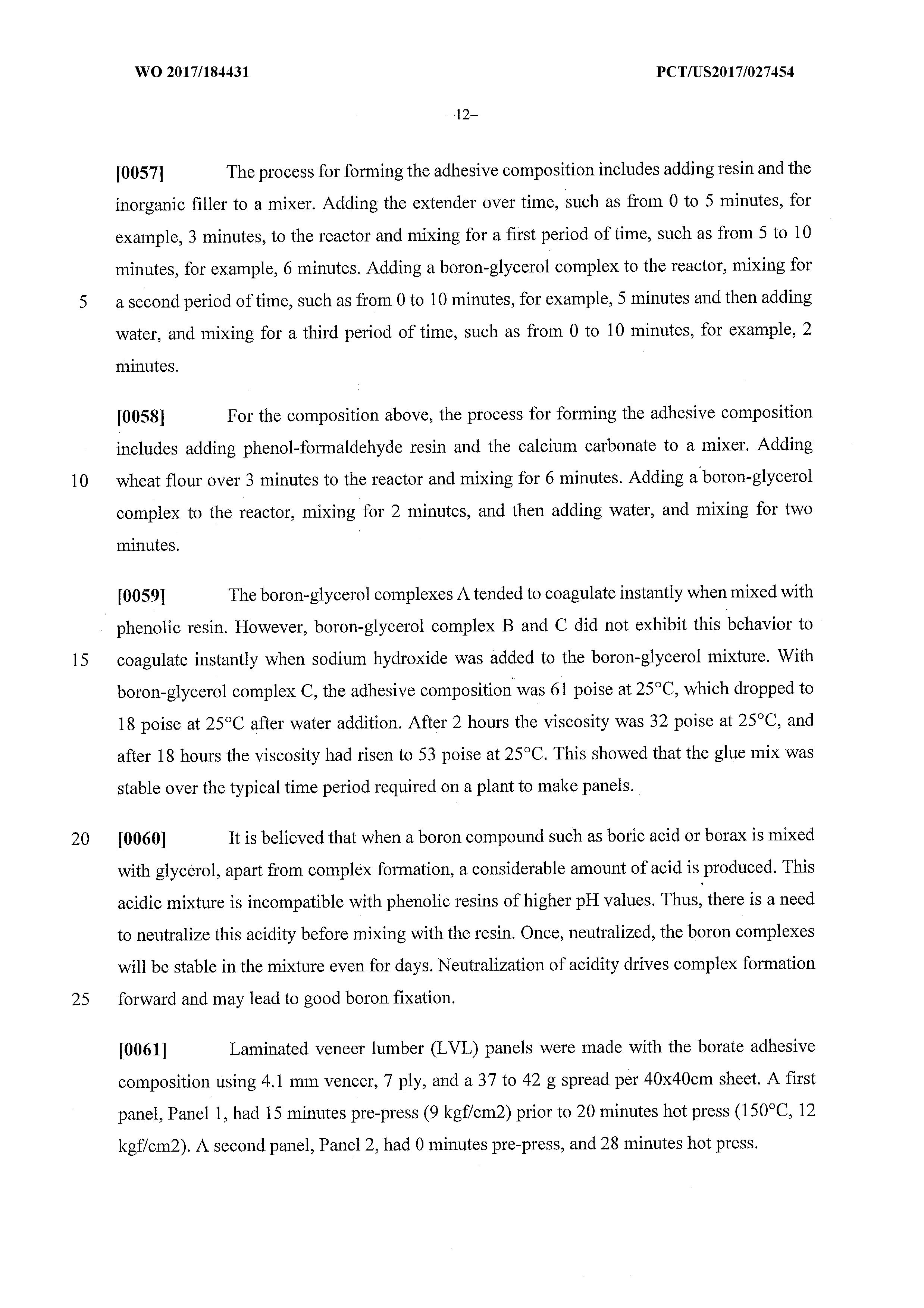 WO 2017/184431 A1 - Incorporation Of Boron Complex Into