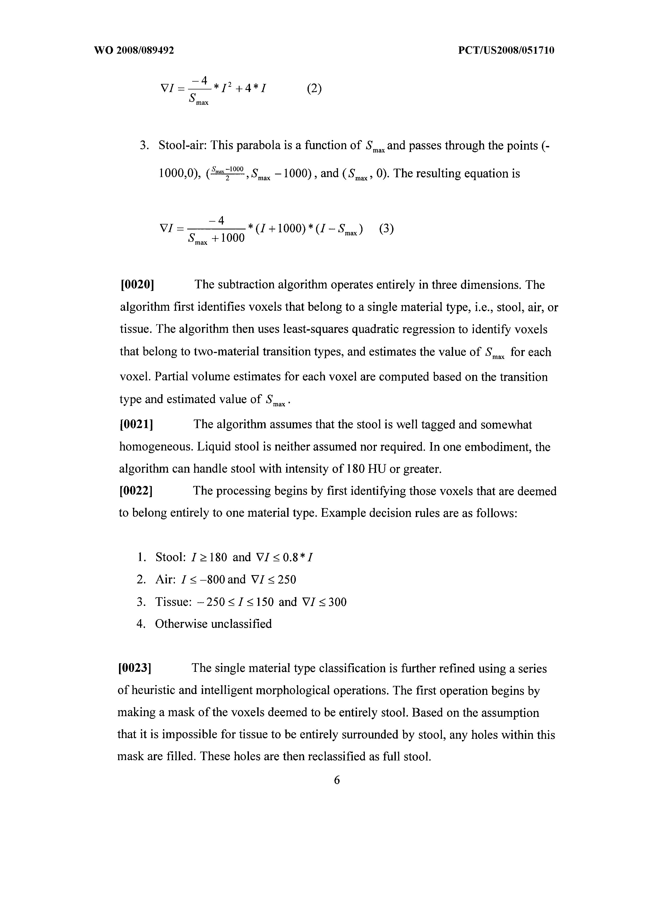 WO 2008/089492 A2 - Electronic Stool Subtraction Using