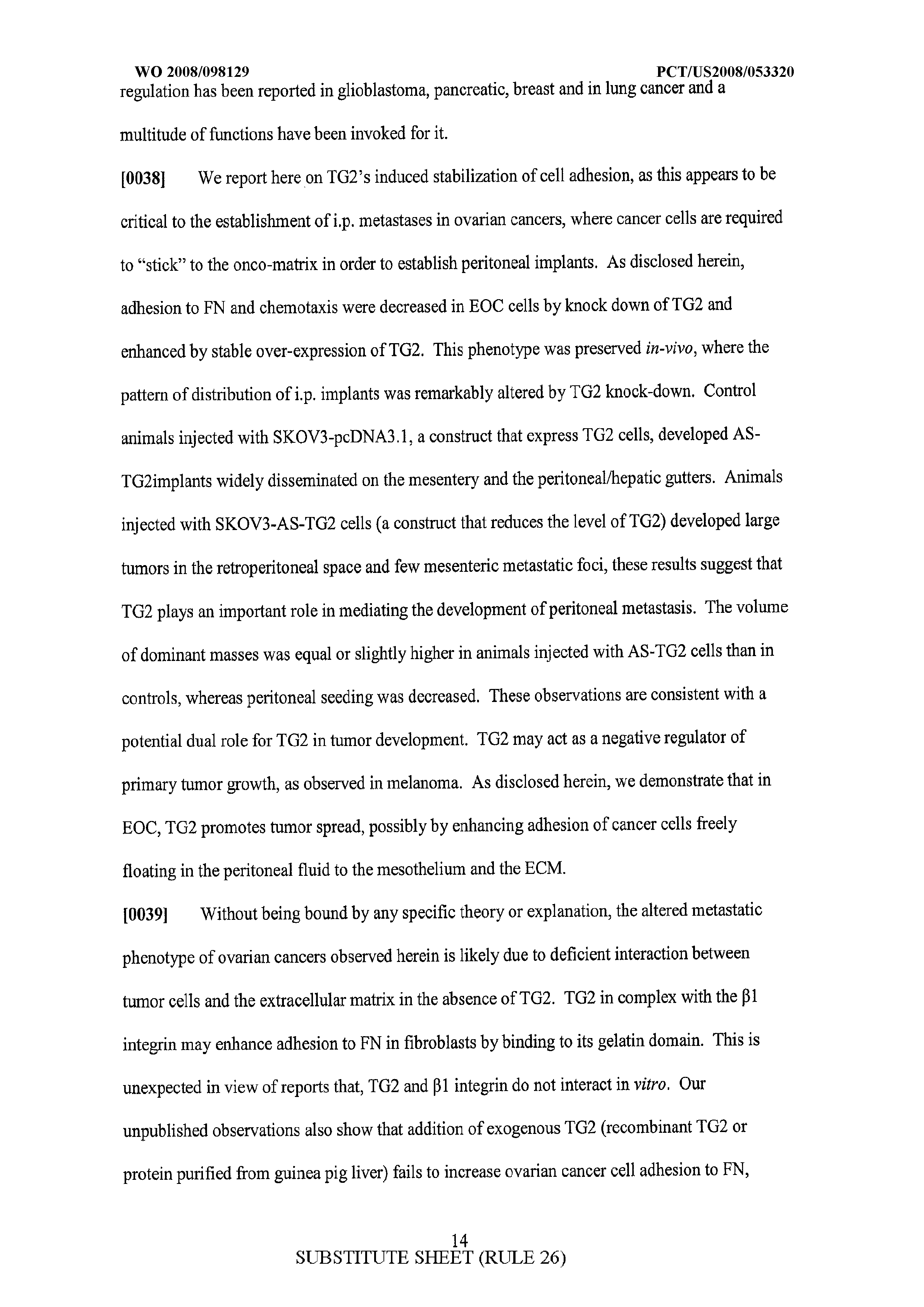WO 2008/098129 A2 - Materials And Methods For Detecting And