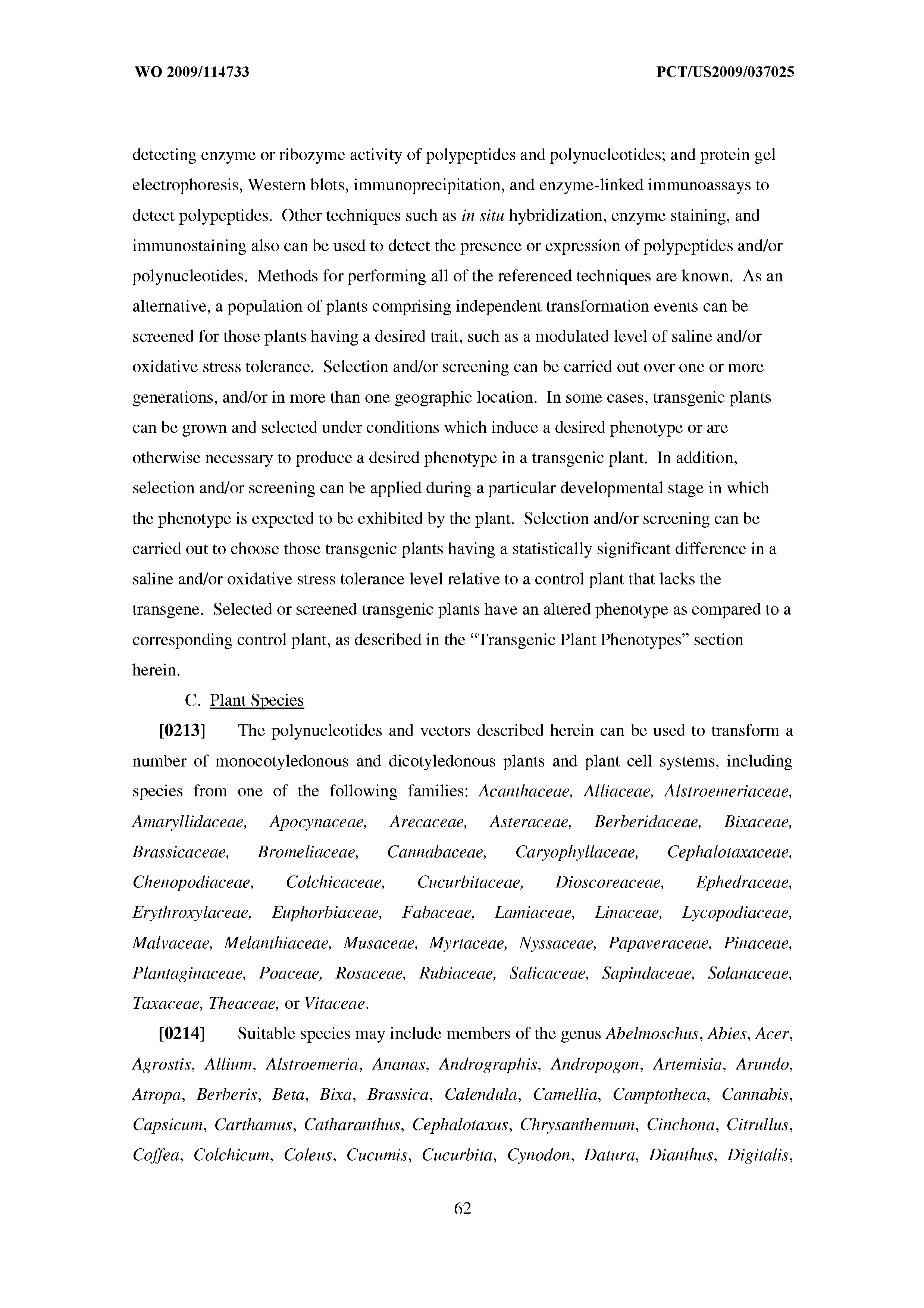 WO 2009/114733 A2 - Nucleotide Sequences And Corresponding