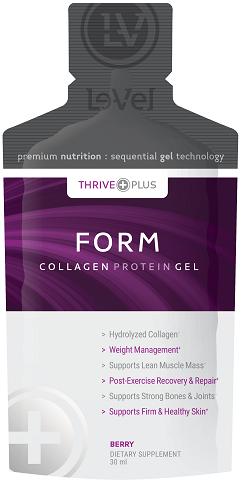 Le-Vel FORM Collagen Gel - A Game Changer in Nutrition