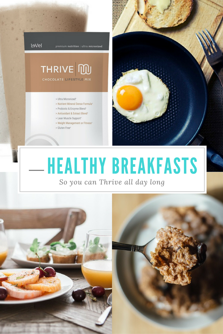 Quick, Healthy Breakfast Ideas to Thrive All Day