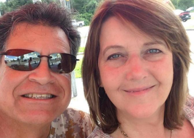 Terri Rodriguez and husband