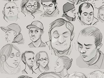 Subway Life Drawing Project
