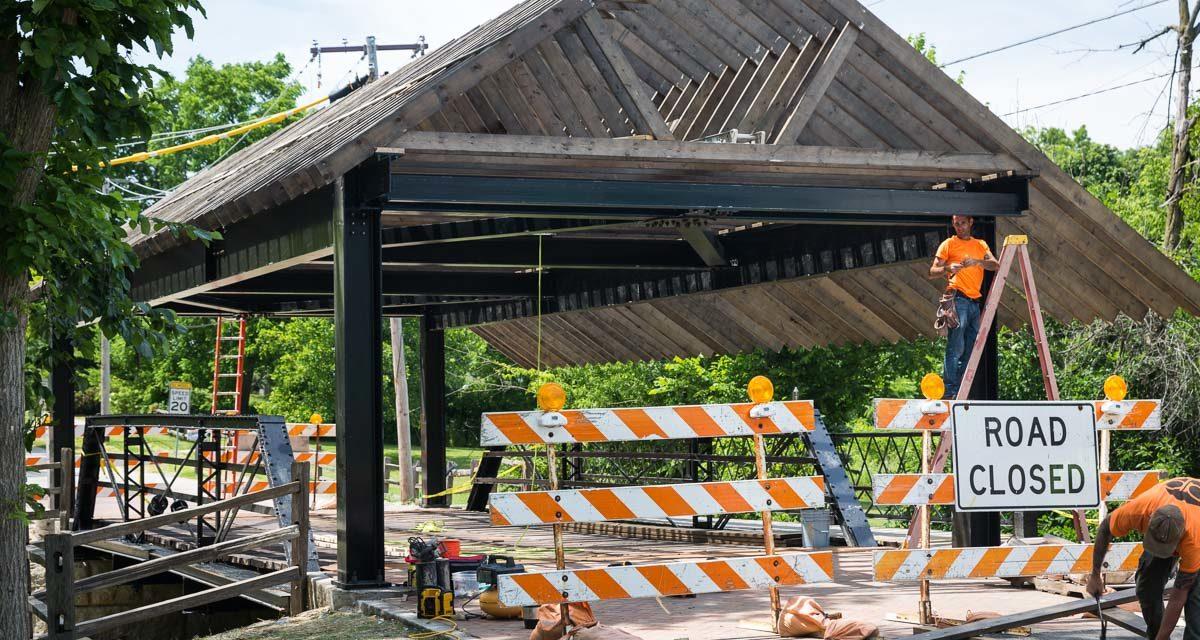 Bridge Restoration Nears Completion