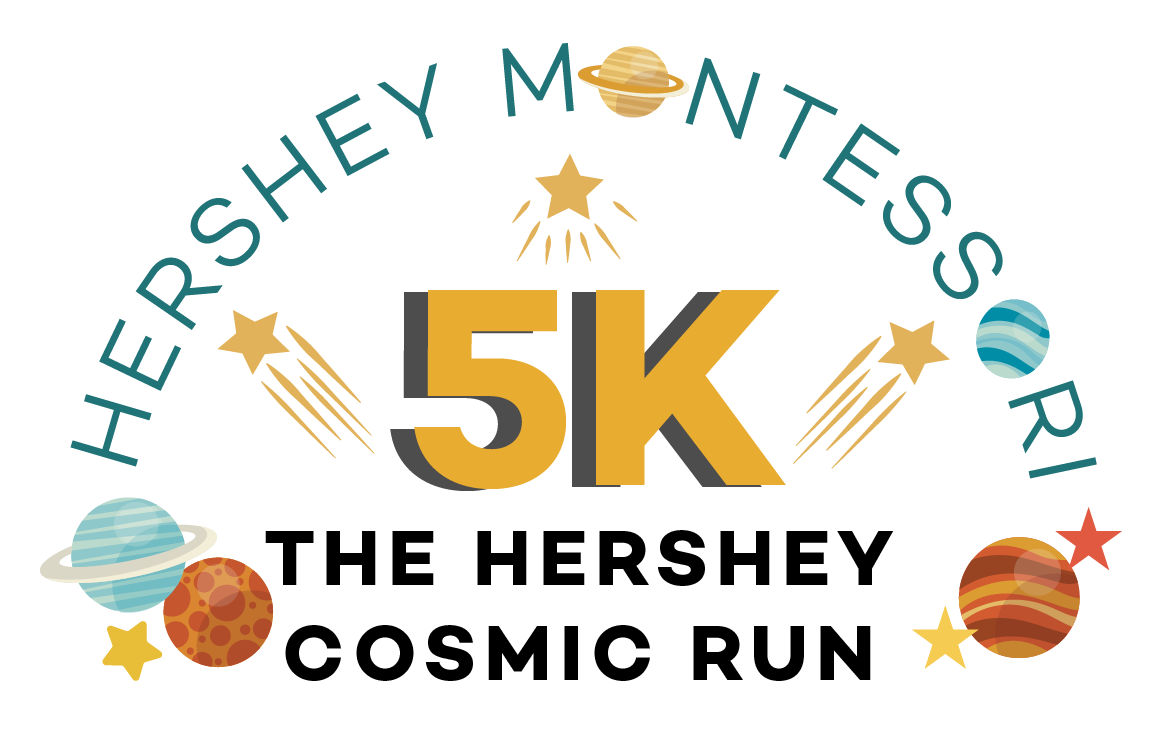 Hershey Cosmic Run Color Logo