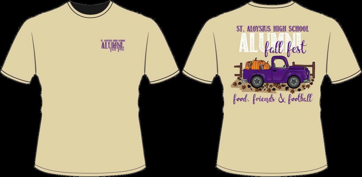 Alumni Fall Fest T-Shirt Design