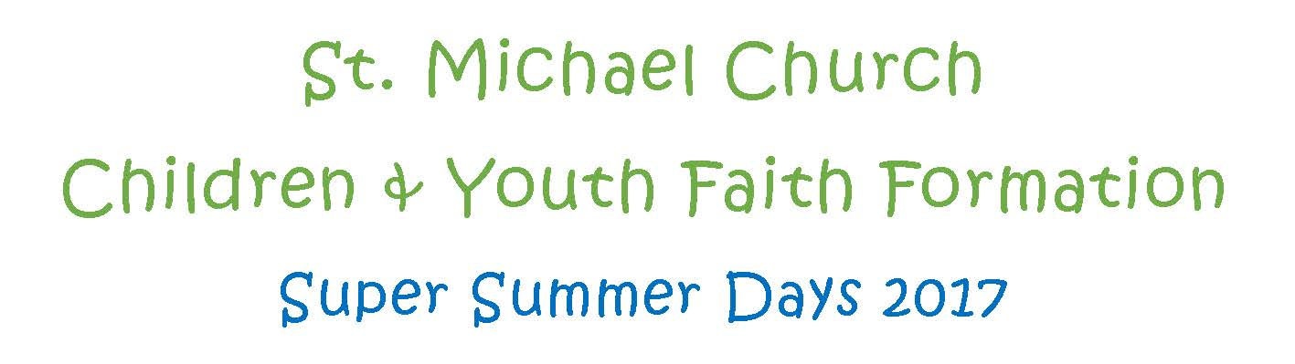 Children and Youth Faith Formation
