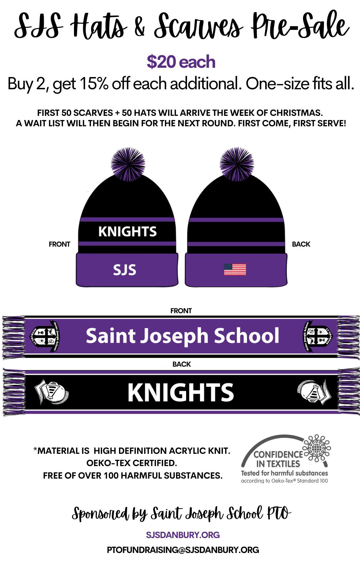 SJS Hats + Scarves