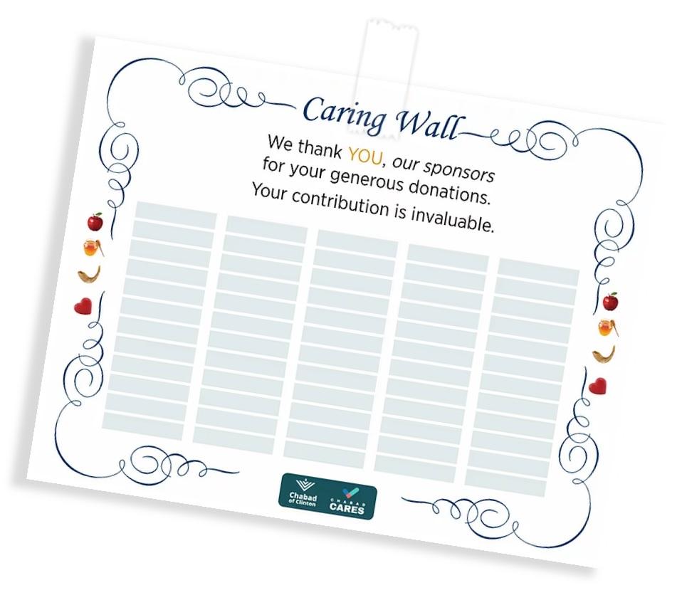 caring wall